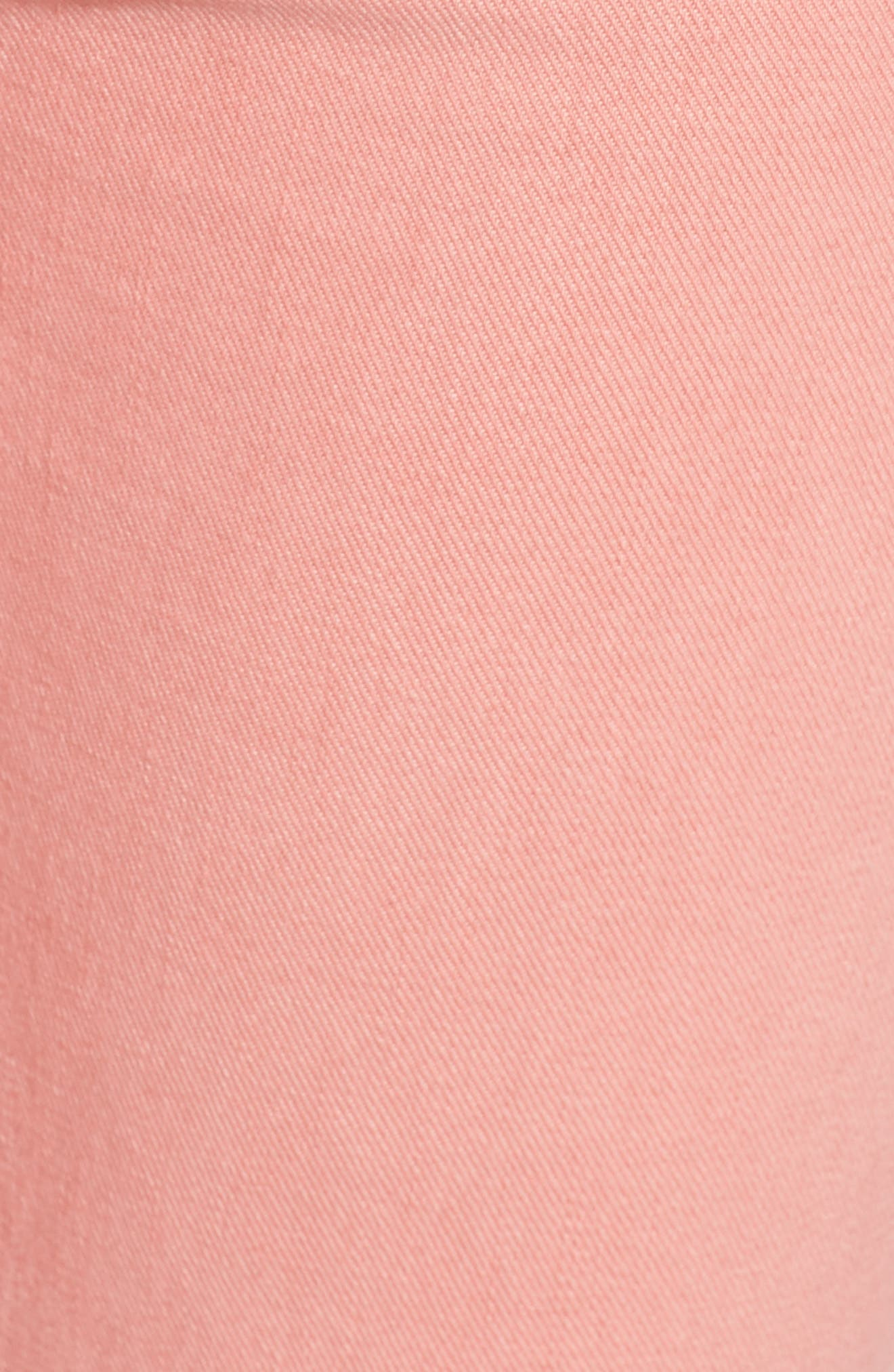 The Rascal Ankle Snippet Jeans,                             Alternate thumbnail 4, color,                             Dusty Pink