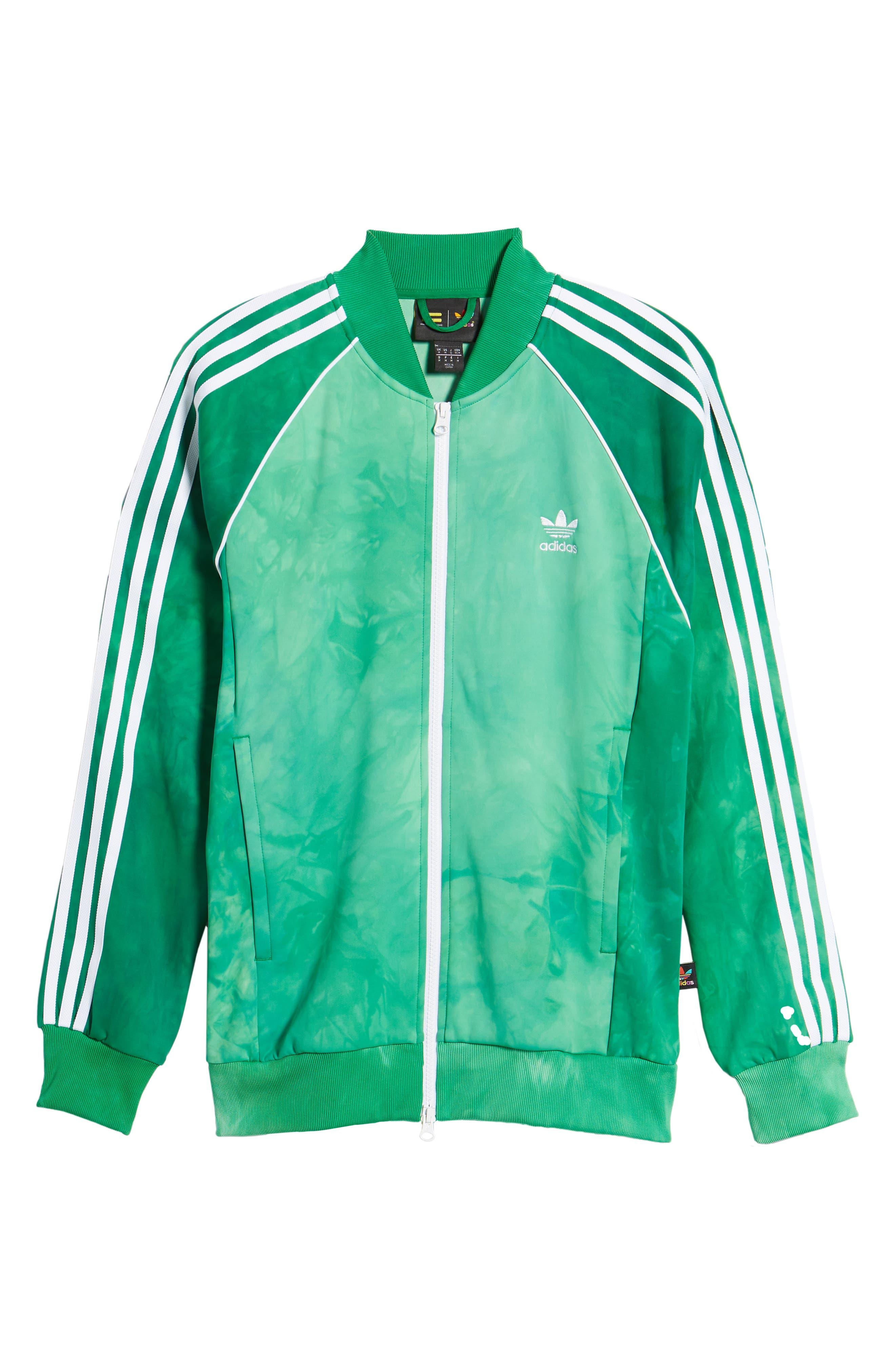 Hu Holi Track Jacket,                             Alternate thumbnail 6, color,                             Green