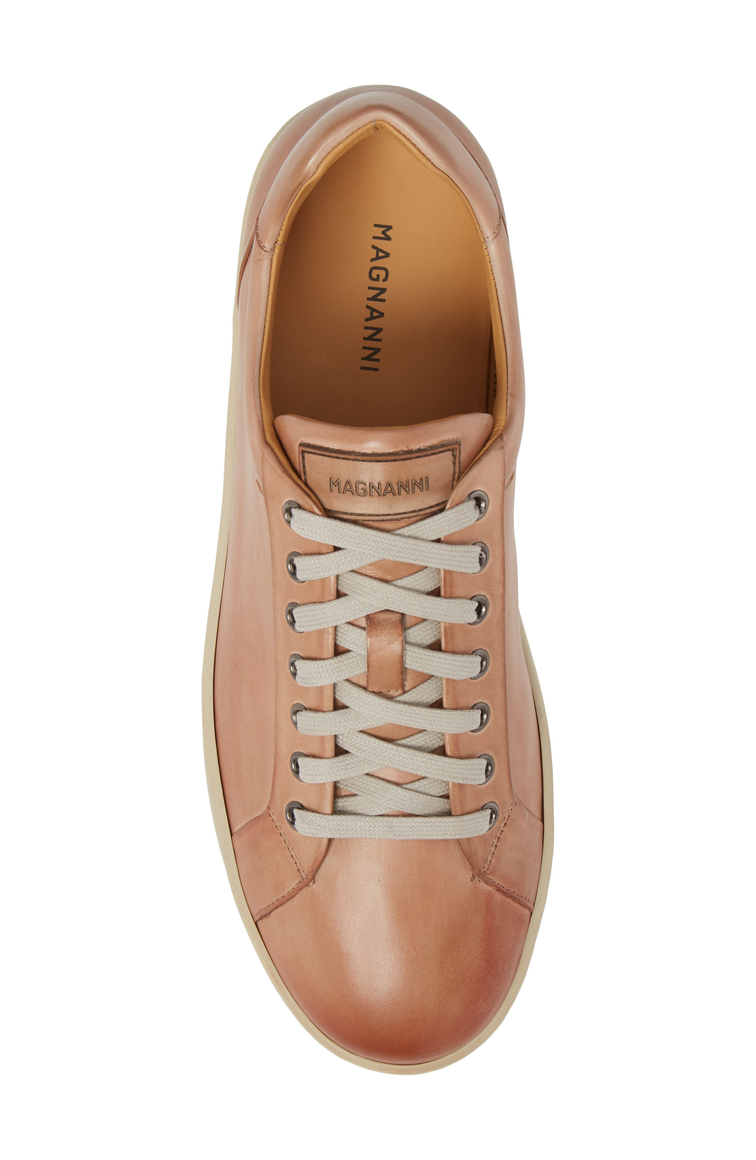 Elonso Low Top Sneaker,                             Alternate thumbnail 5, color,                             Rosa Leather
