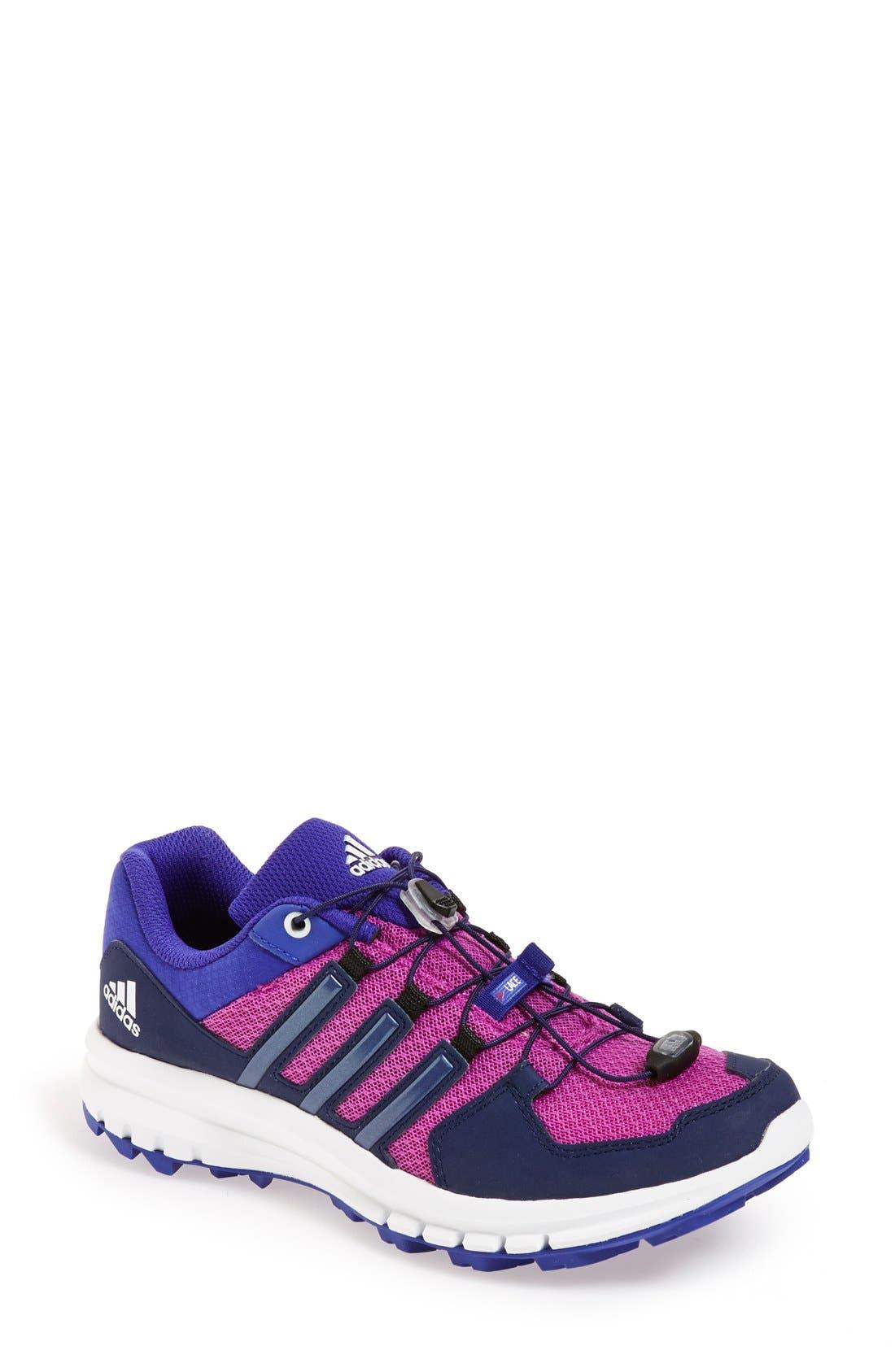 Alternate Image 1 Selected - adidas 'Duramo Cross Trail' Running Shoe (Women)
