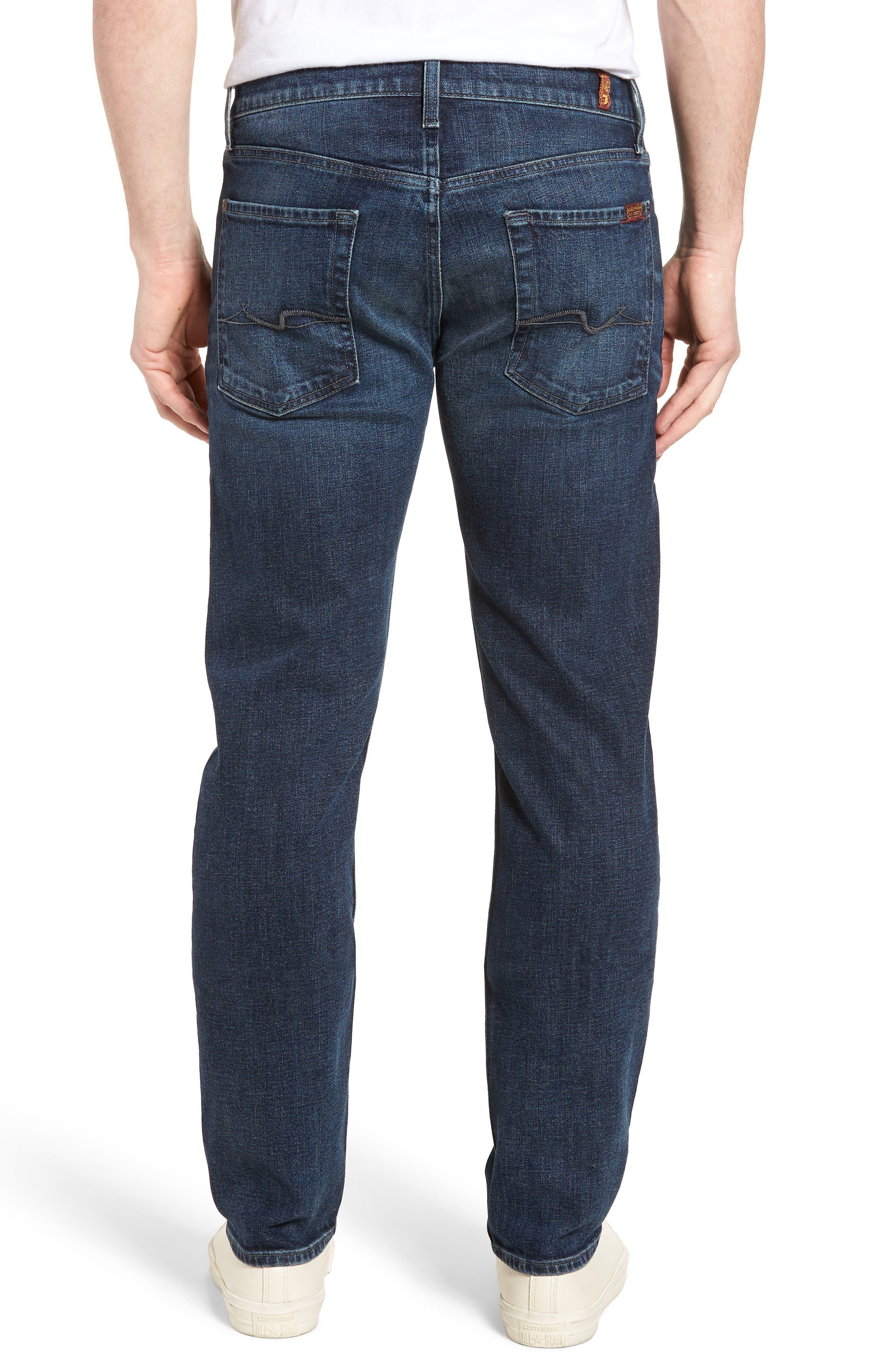 The Standard Straight Leg Jeans,                             Alternate thumbnail 2, color,                             Untouchable