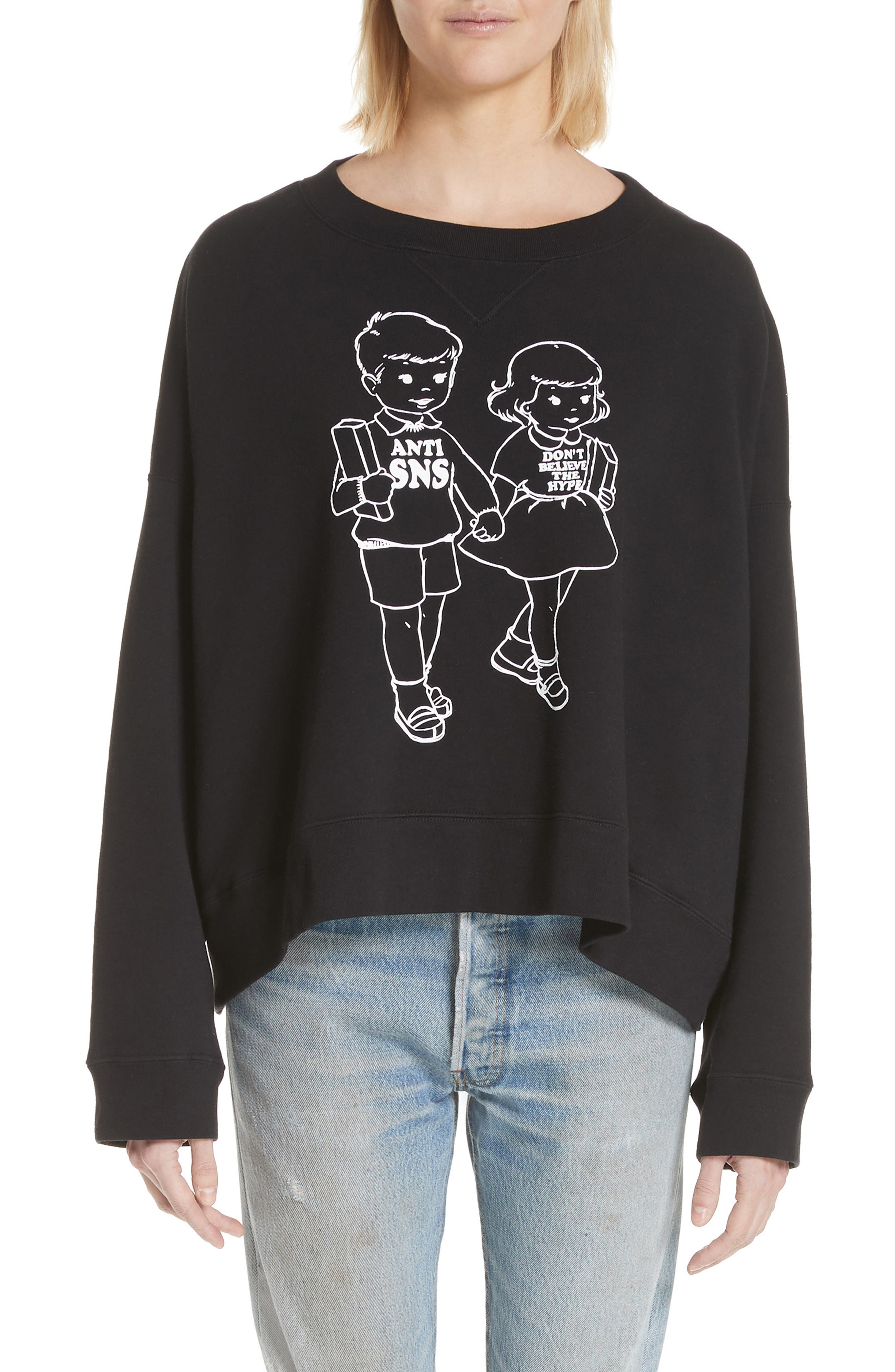 Undercover Anti SNS Graphic Sweatshirt