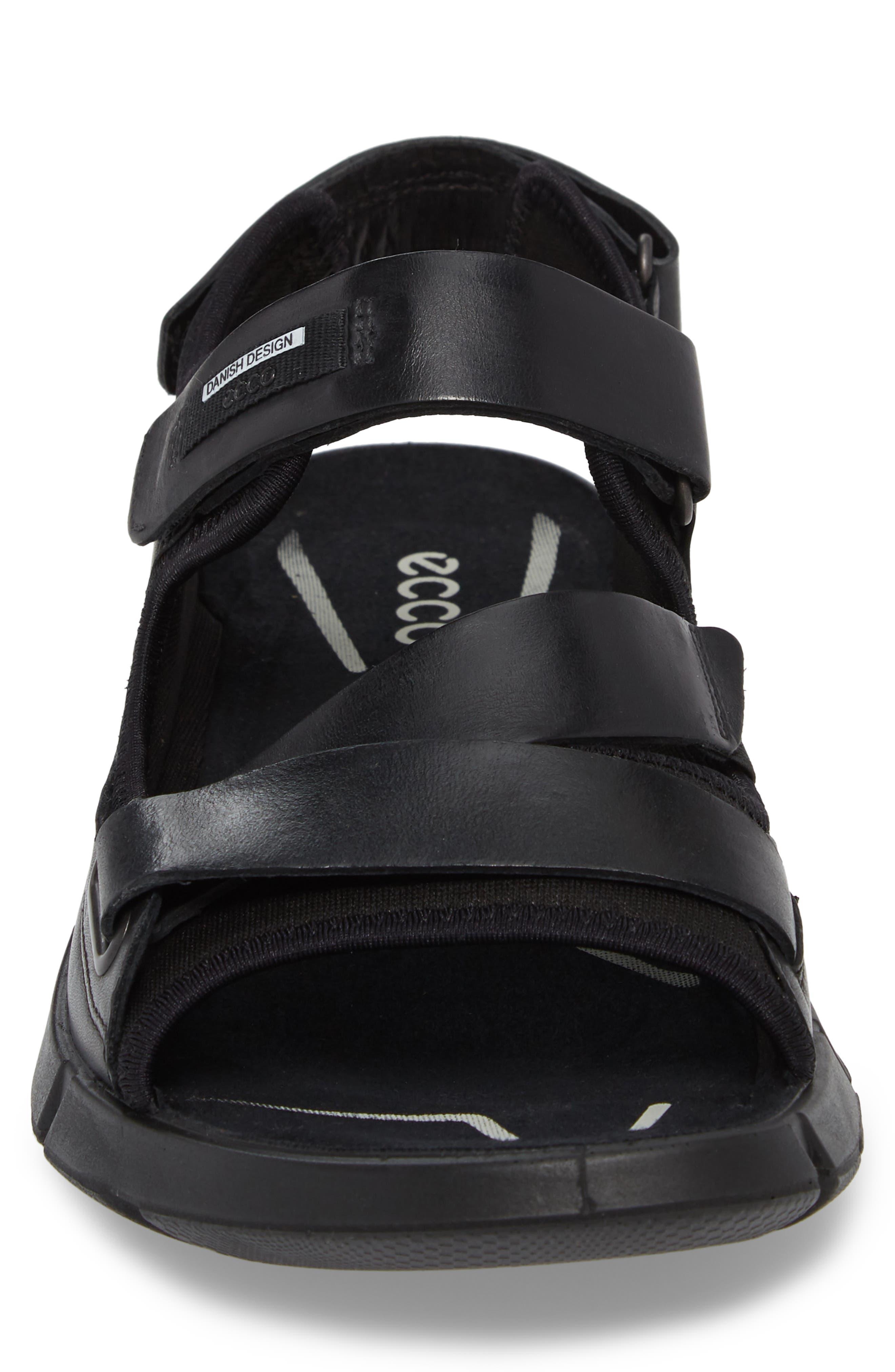 Intrinsic 2 Sandal,                             Alternate thumbnail 4, color,                             Black Leather