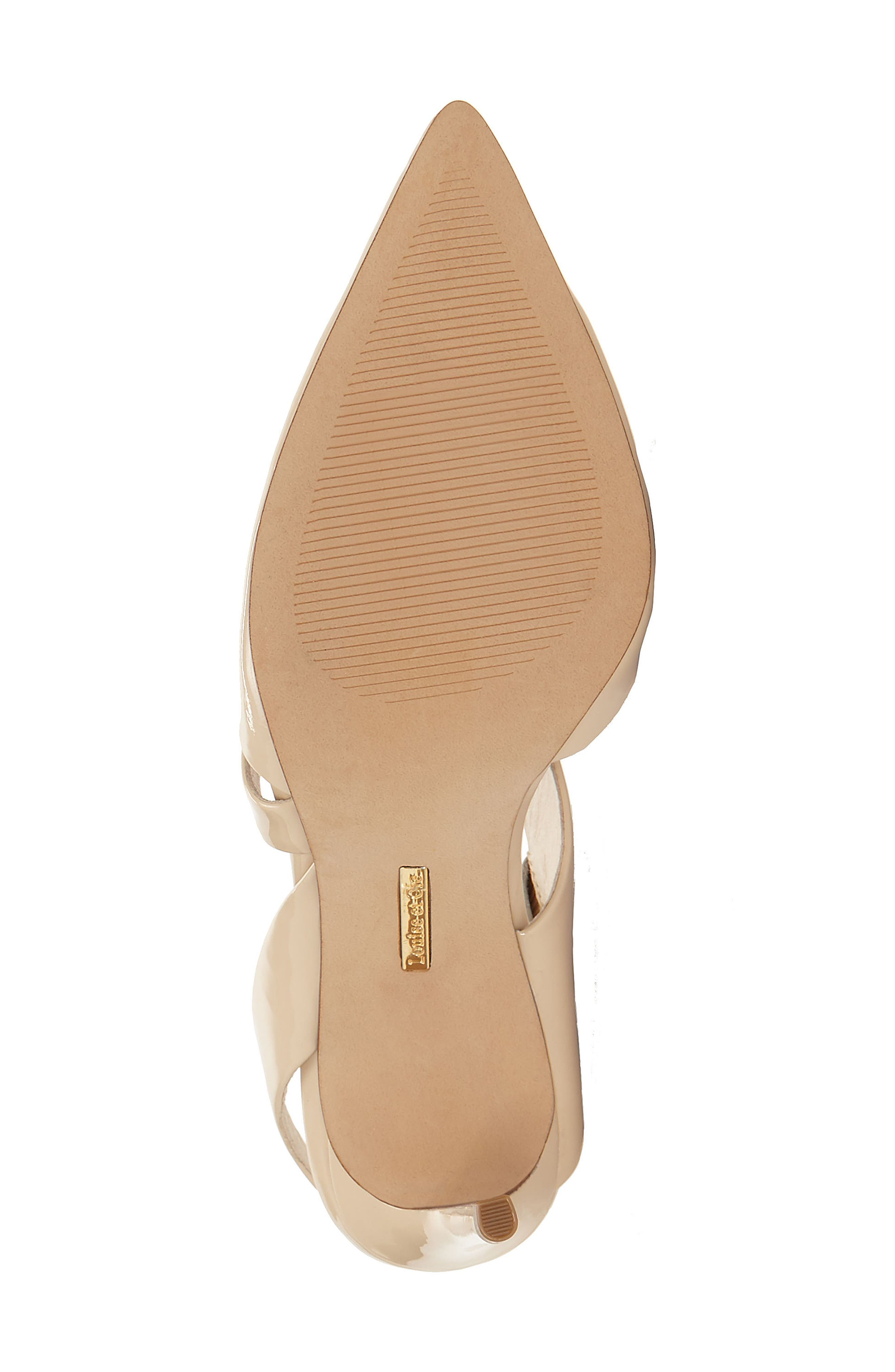 Jerry Pointy Toe Slingback Pump,                             Alternate thumbnail 6, color,                             Odessa Patent