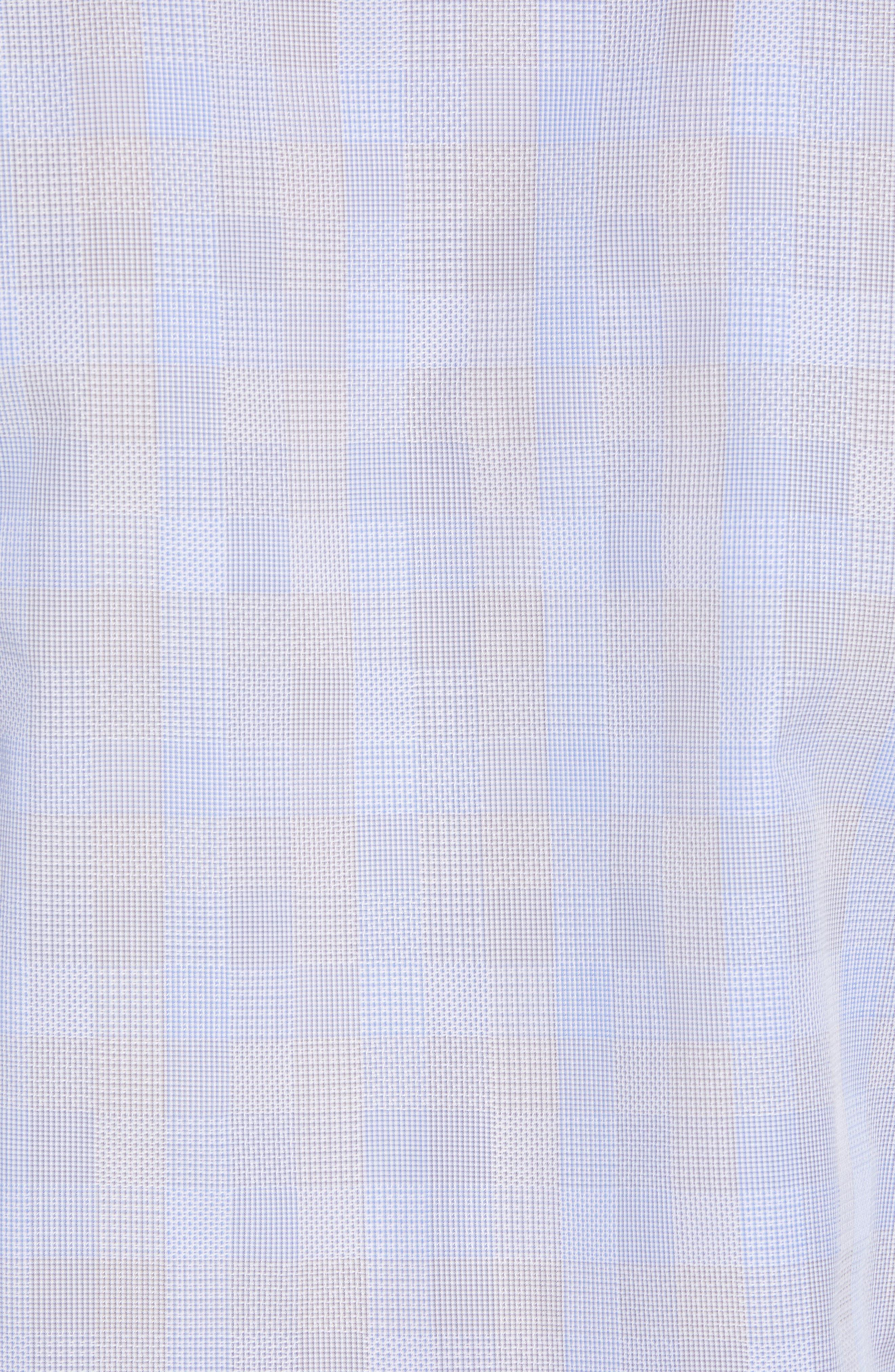 Regular Fit Check Sport Shirt,                             Alternate thumbnail 5, color,                             Blue