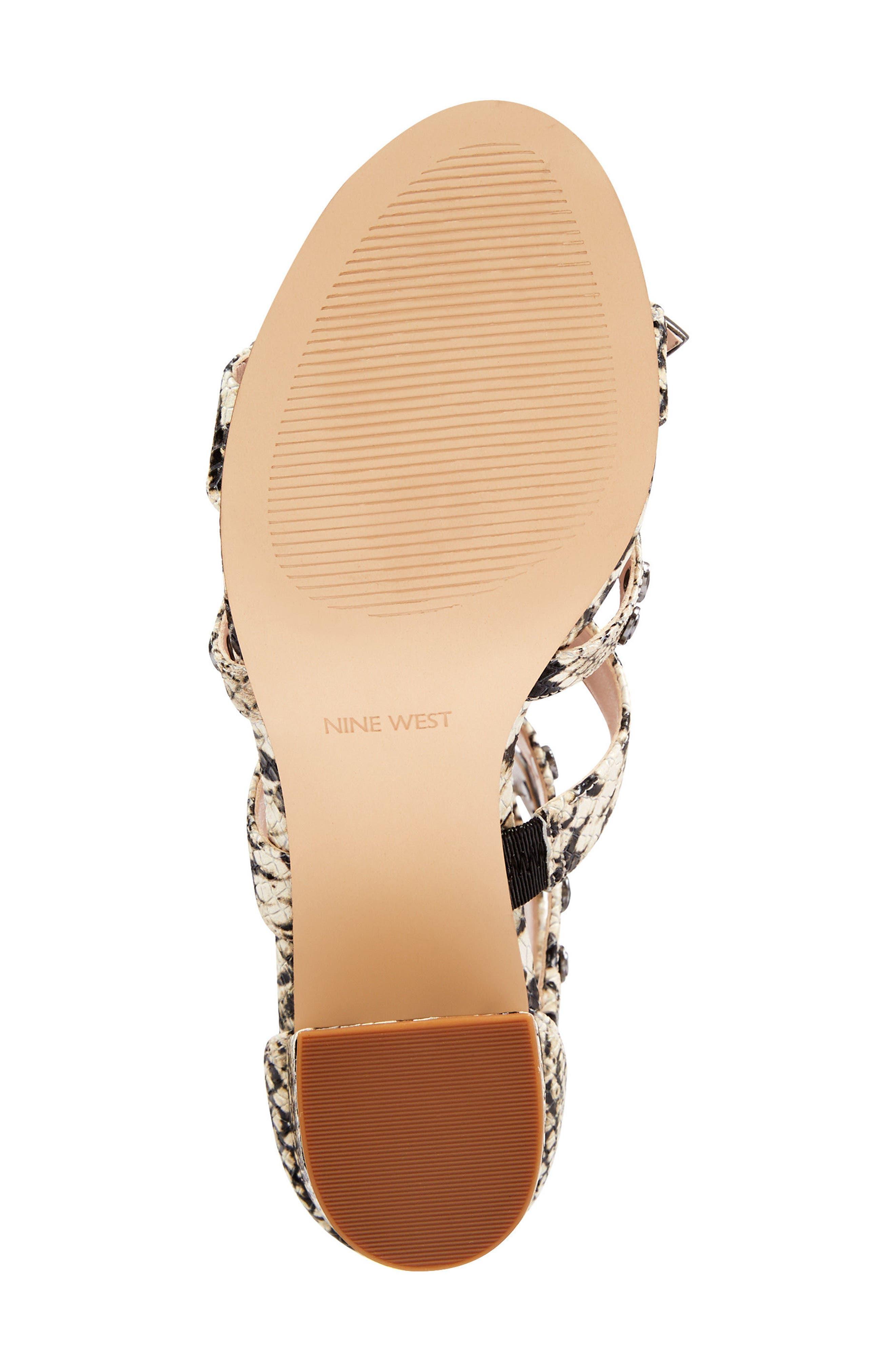 Giovanna Studded Sandal,                             Alternate thumbnail 6, color,                             Off White