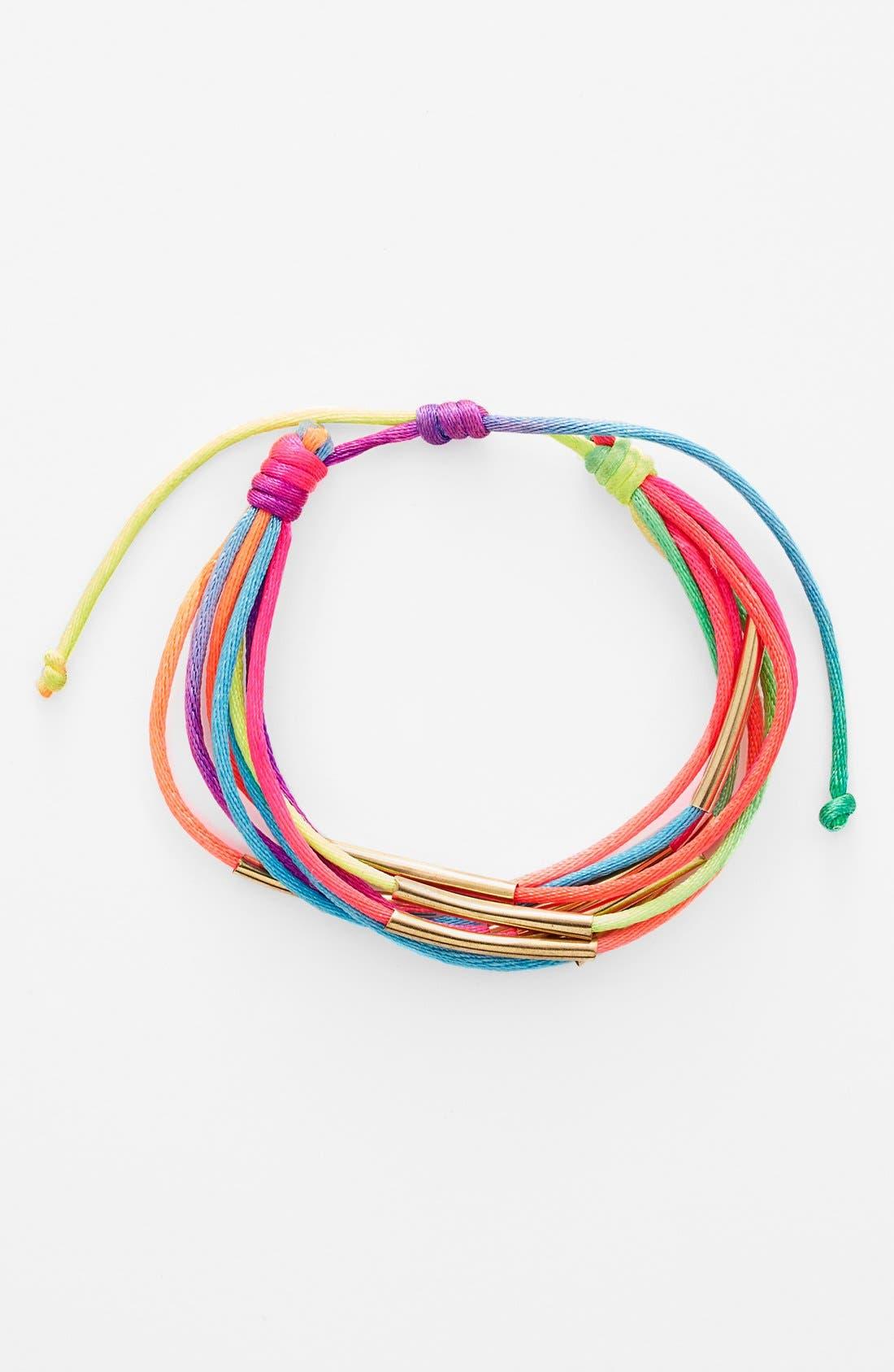 Alternate Image 1 Selected - Cara Friendship Bracelet (Girls)