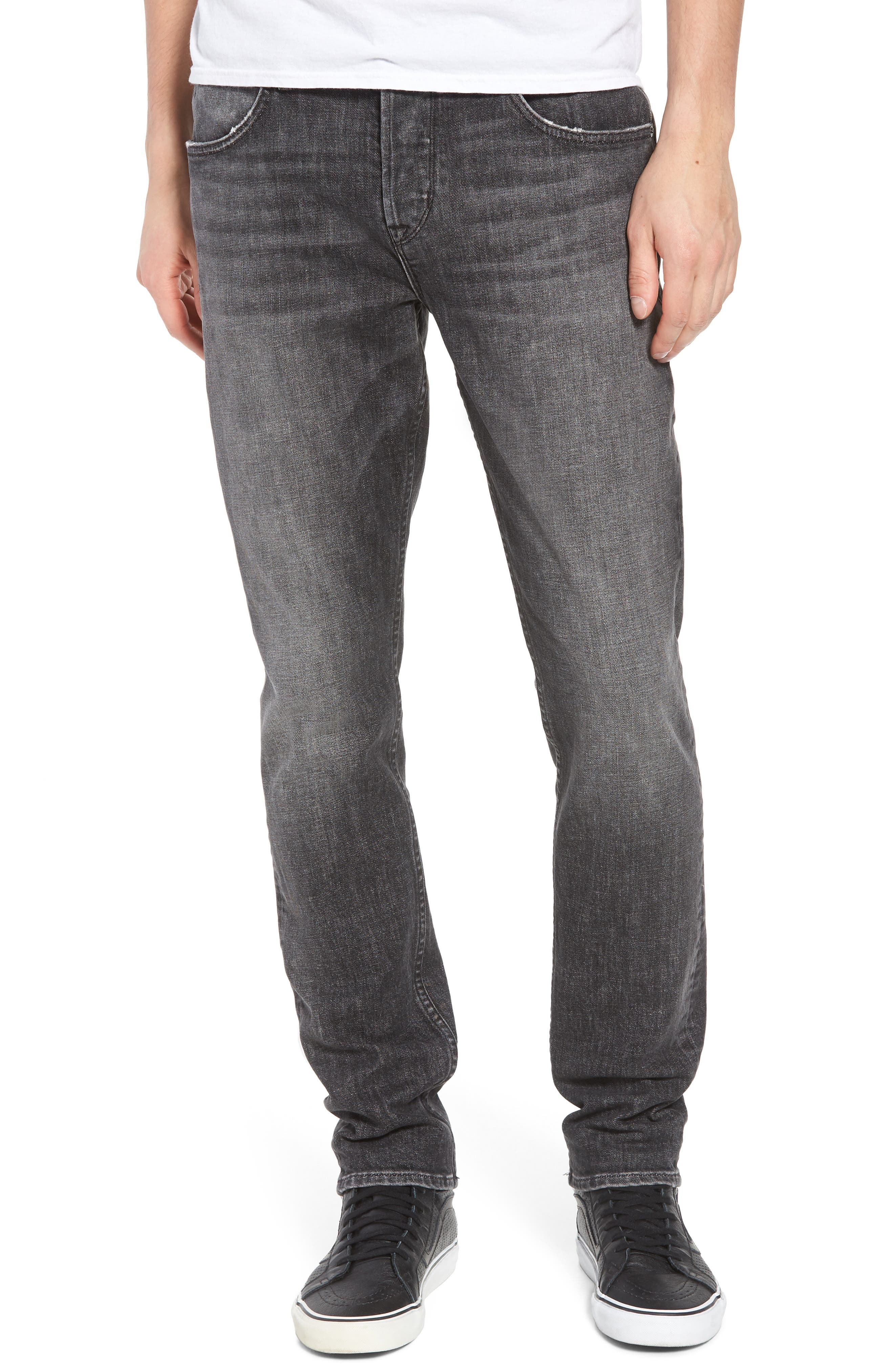 Hudson Jeans Axl Skinny Fit Jeans (Infamous)