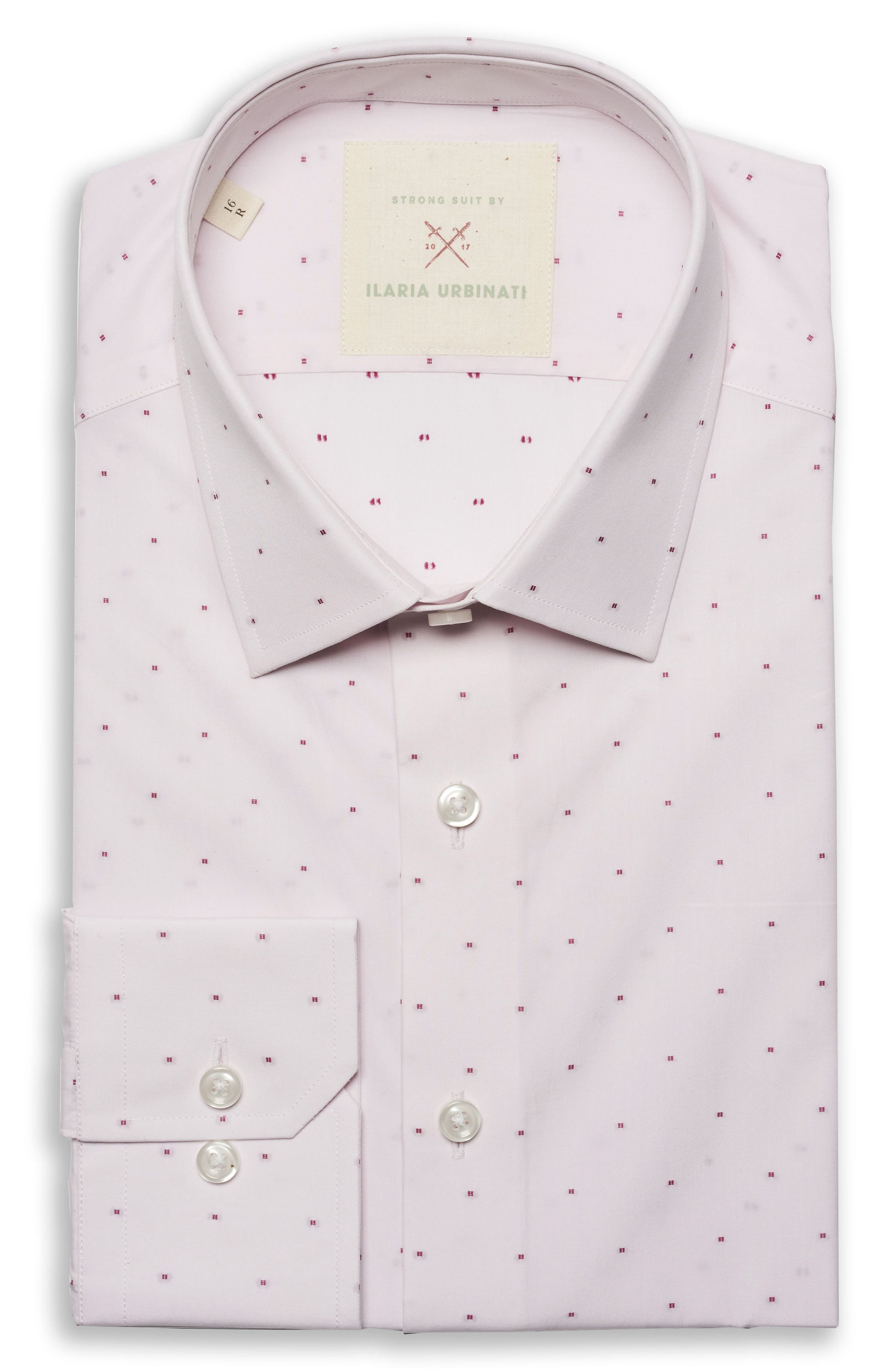 Strong Suit by Ilaria Urbinati Edmond Slim Fit Dobby Dress Shirt (Nordstrom Exclusive)