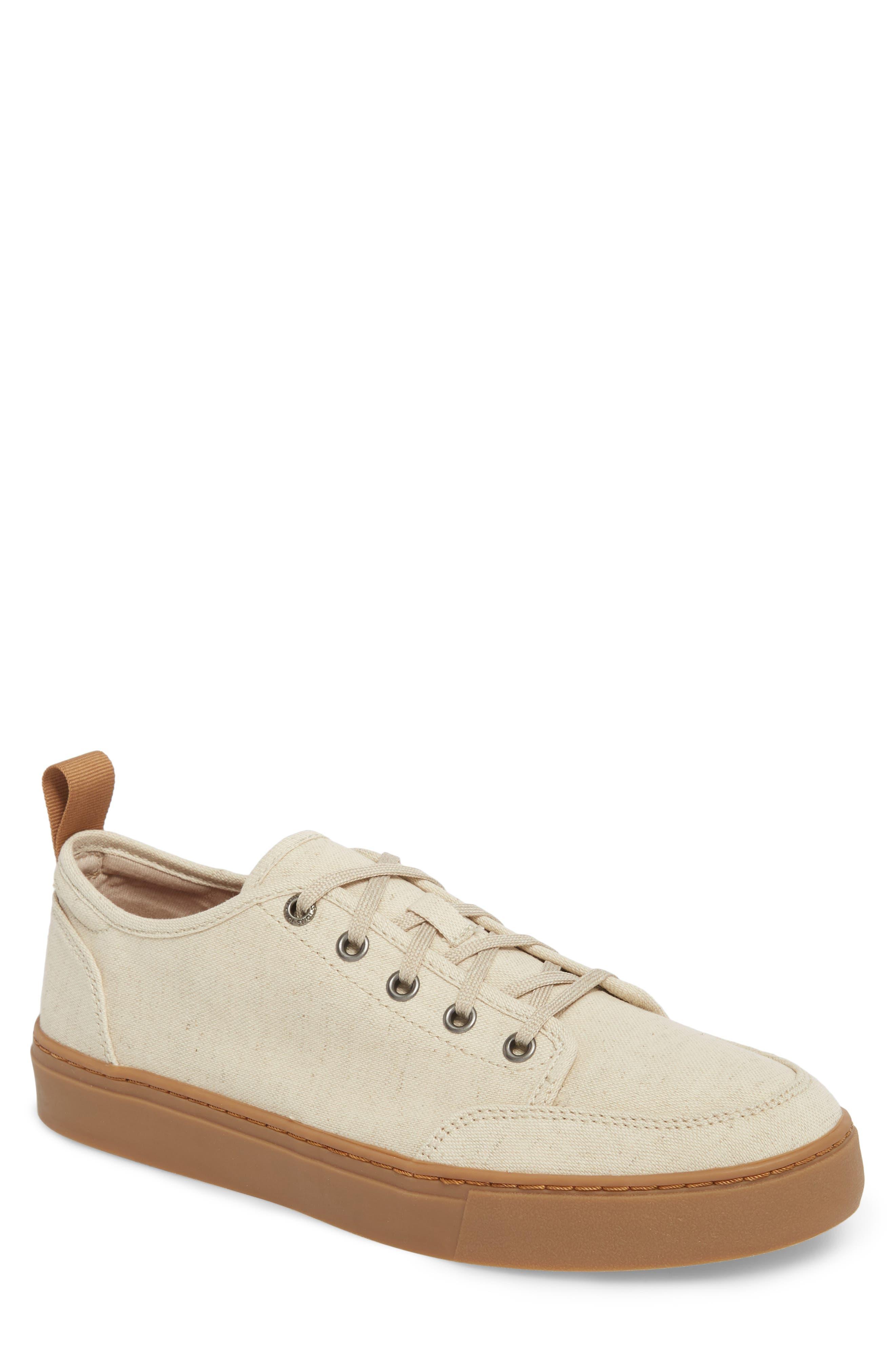 Landen Low Top Sneaker,                         Main,                         color, Natural Hemp/ Gum