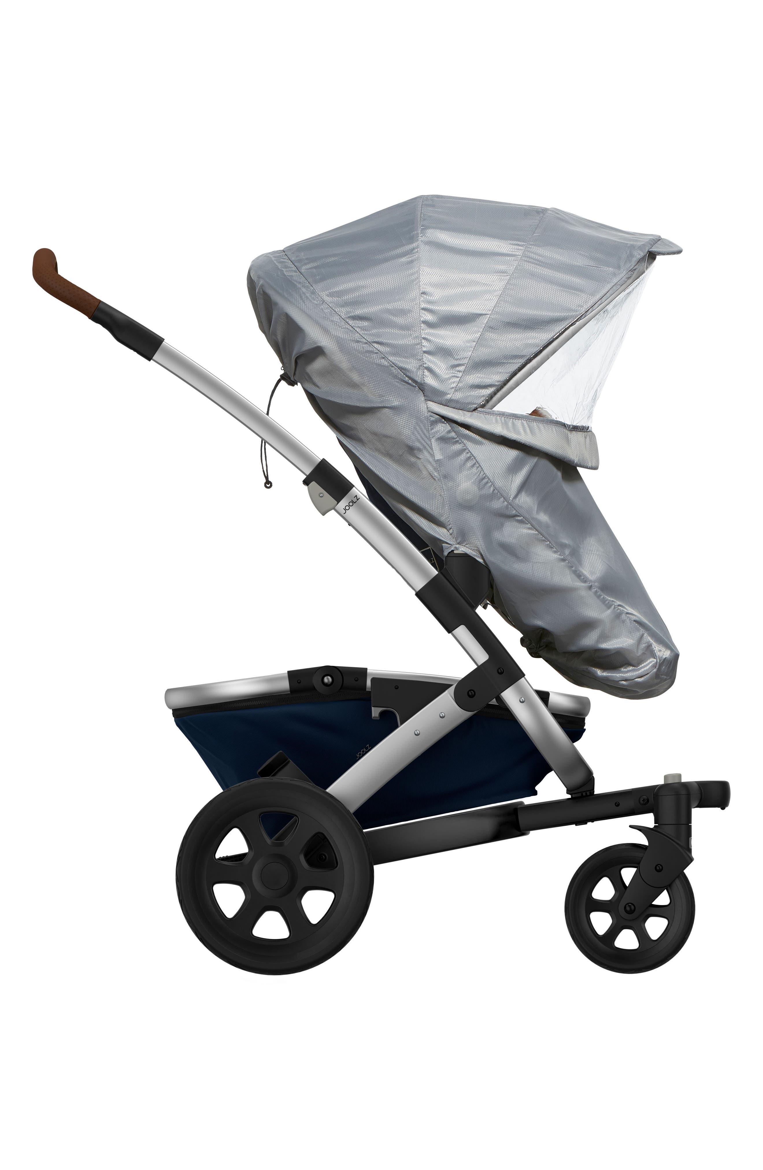 Geo2 Stroller Upper Rain Cover,                         Main,                         color, Grey/ Clear