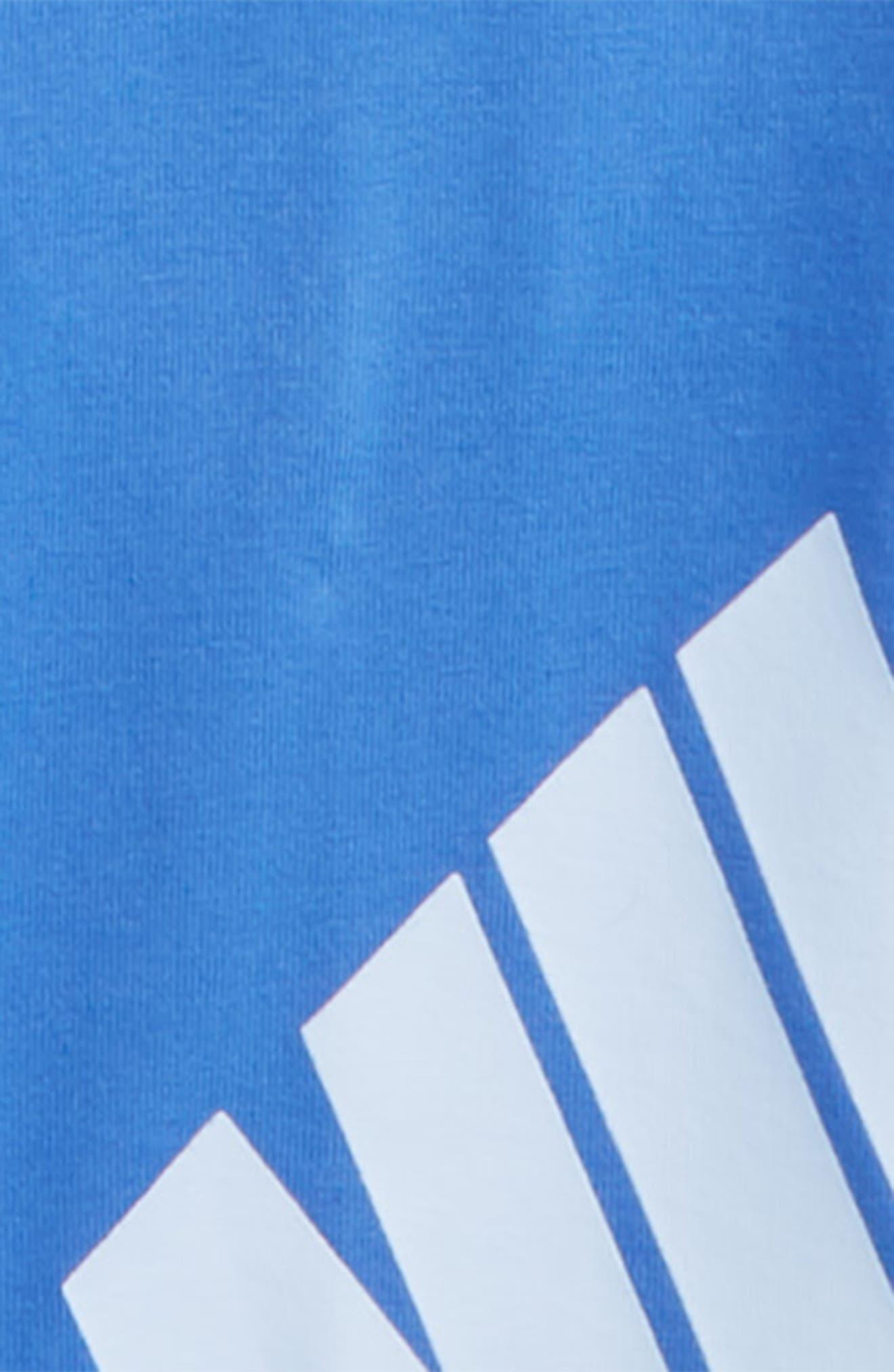 Leg A See Logo Leggings,                             Alternate thumbnail 2, color,                             Light Racer Blue/ Royal Tint