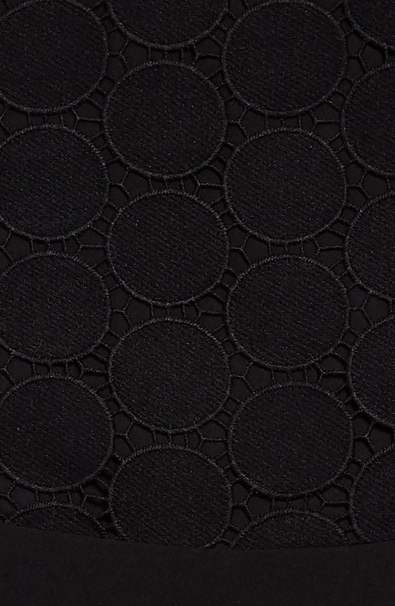 Miami Dress,                             Alternate thumbnail 3, color,                             Black