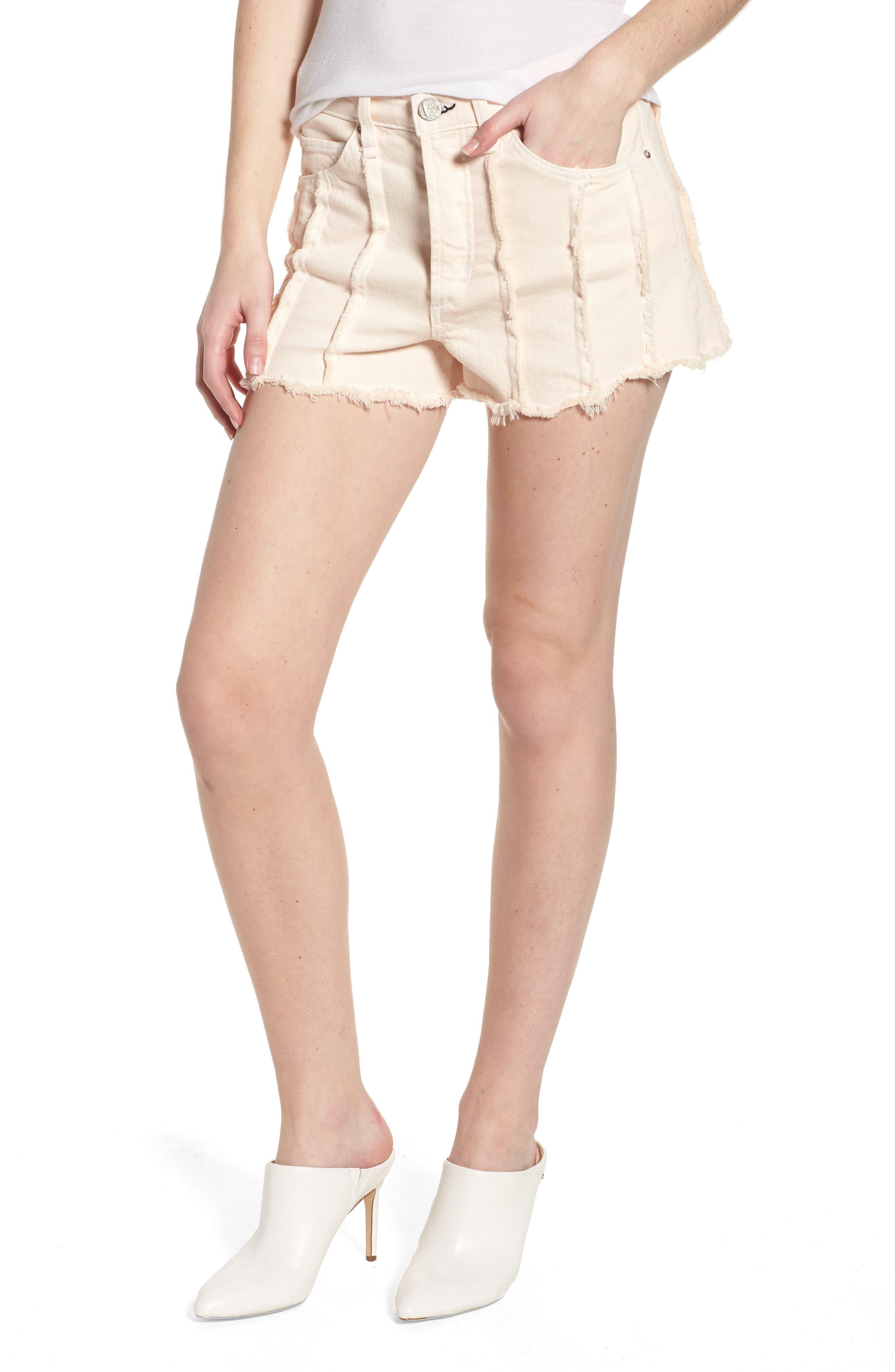Georgia May High Waist Shorts,                             Main thumbnail 1, color,                             Baby Flamingo
