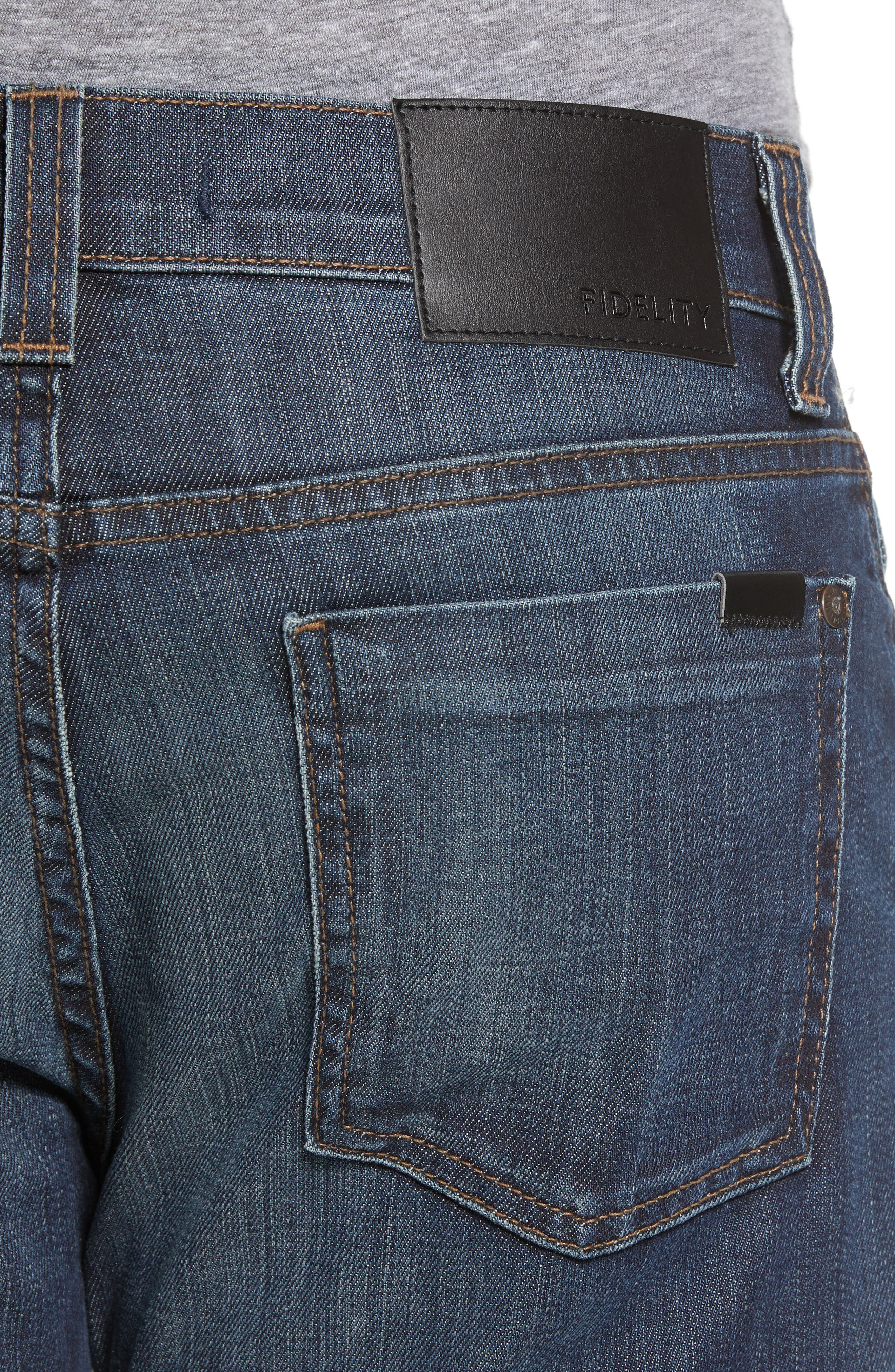 50-11 Relaxed Fit Jeans,                             Alternate thumbnail 4, color,                             Winwood Vintage