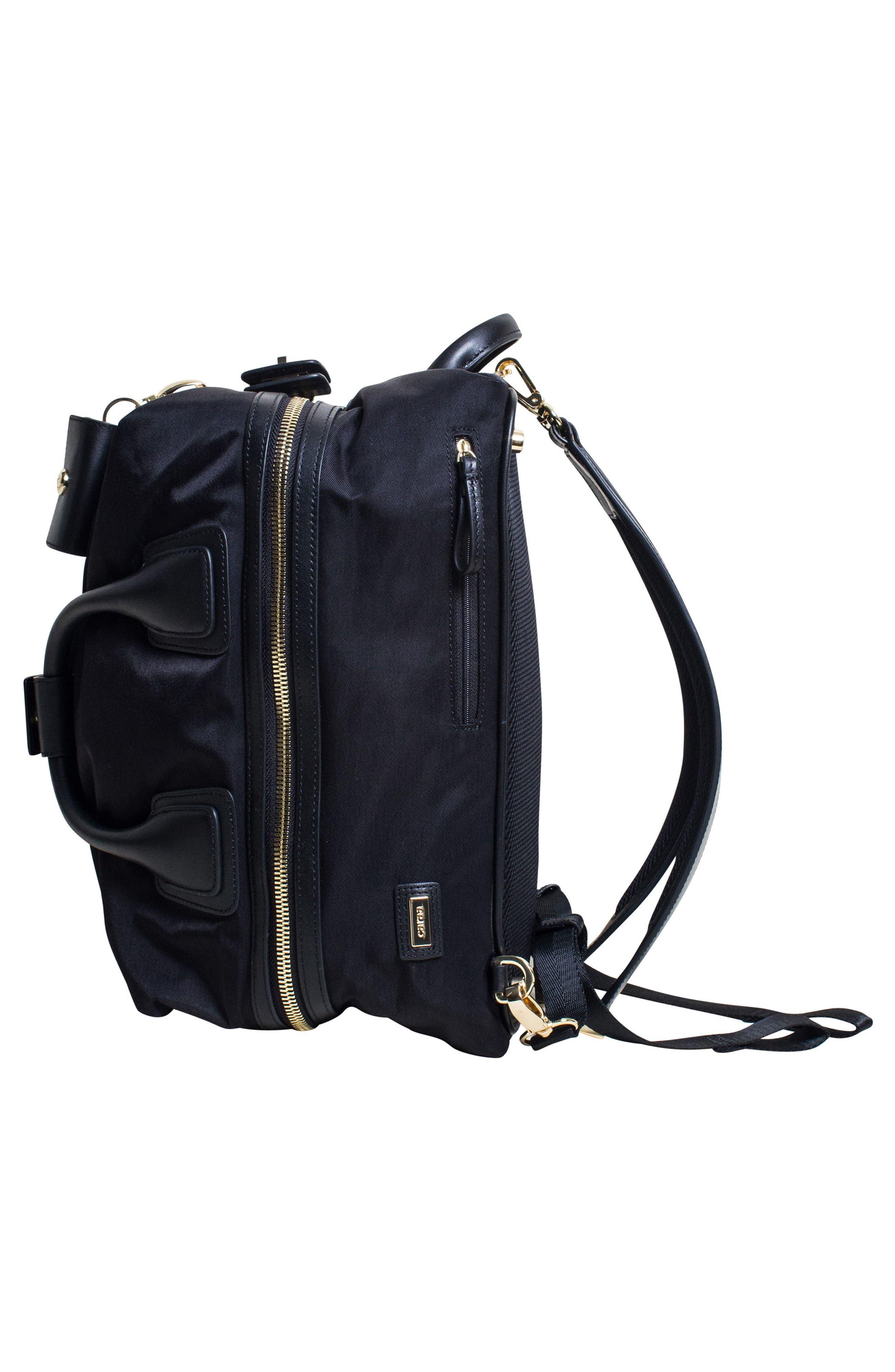 Studio Duffel Backpack,                             Alternate thumbnail 5, color,                             Black