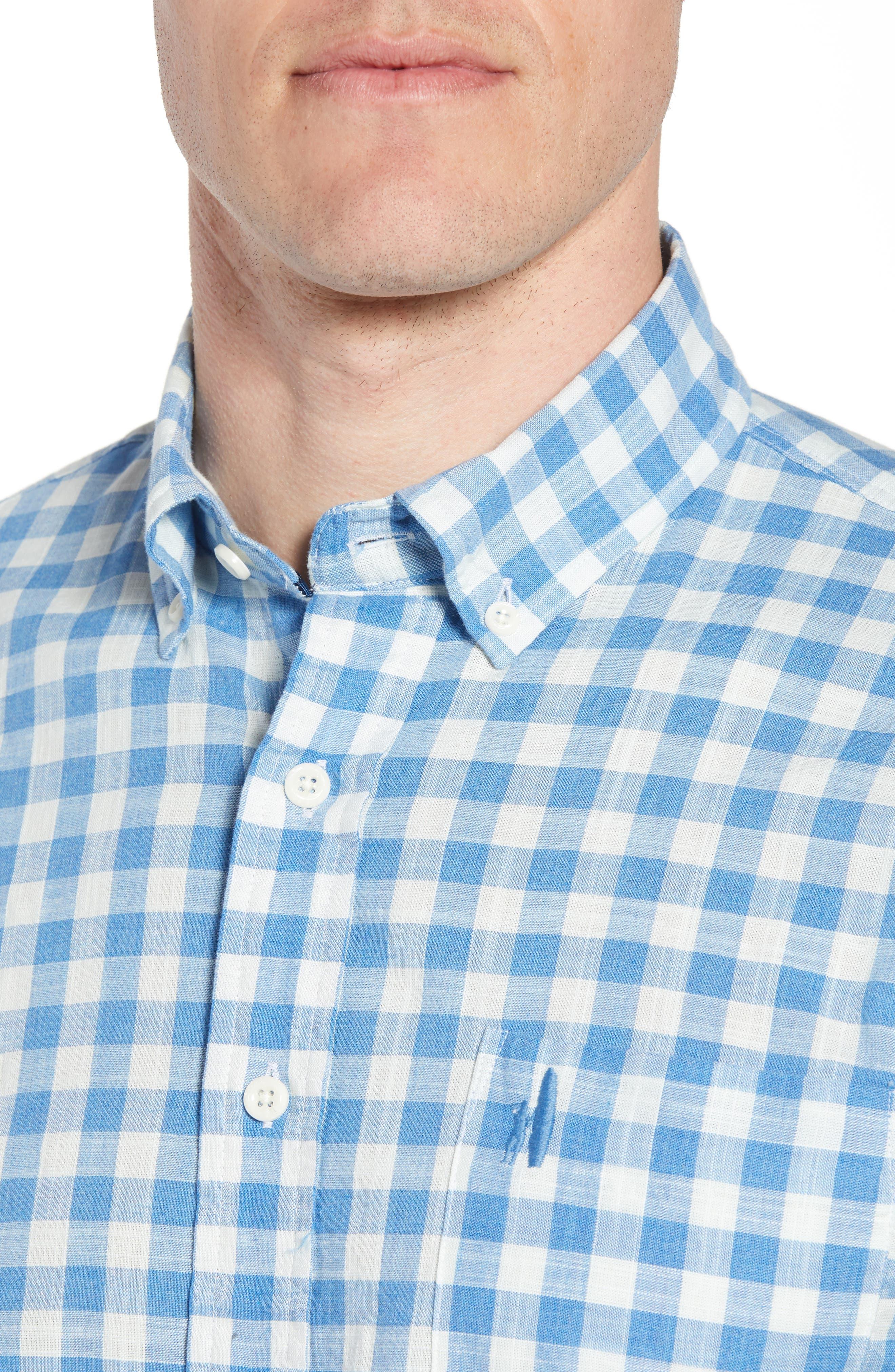 Watts Regular Fit Sport Shirt,                             Alternate thumbnail 2, color,                             Regatta