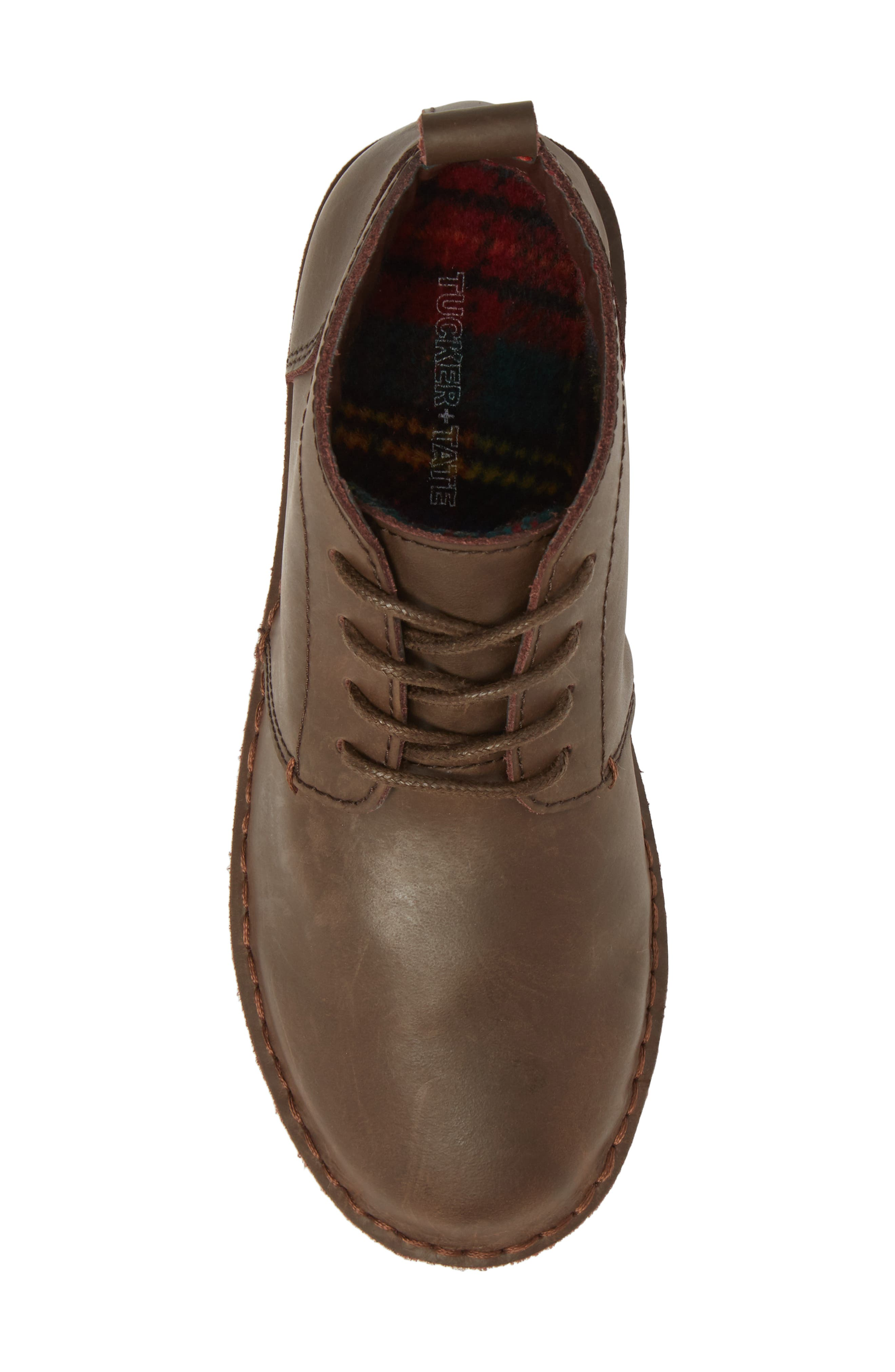 Finley Boot,                             Alternate thumbnail 5, color,                             Chocolate Leather