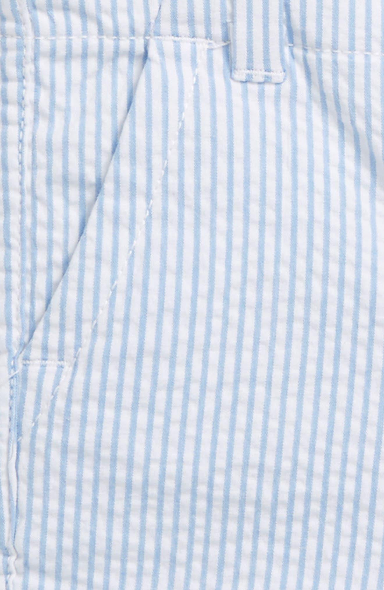 Seersucker Everyday Shorts,                             Alternate thumbnail 2, color,                             Ocean Breeze