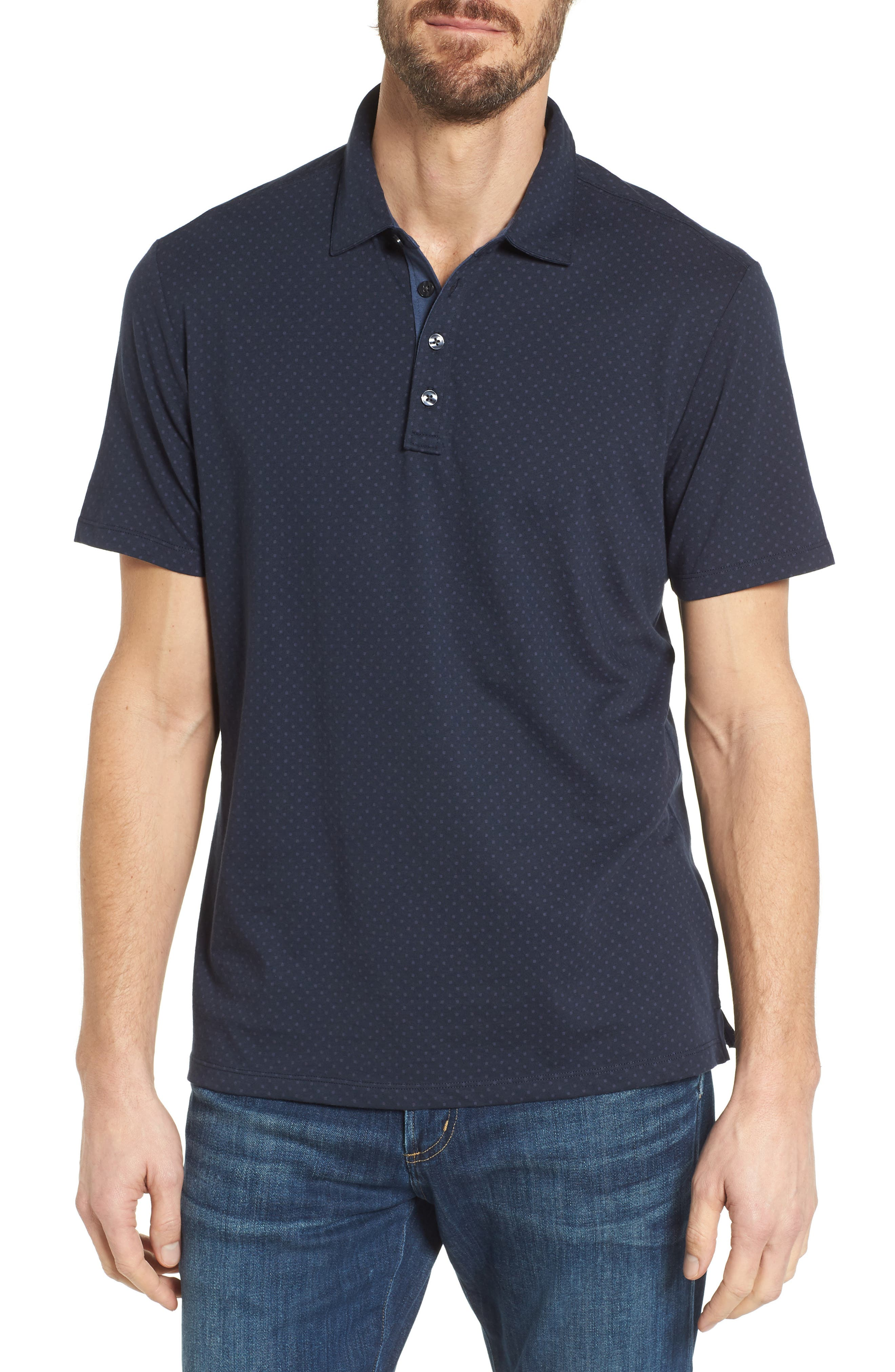 Glenwood Polo,                         Main,                         color, Eclipse