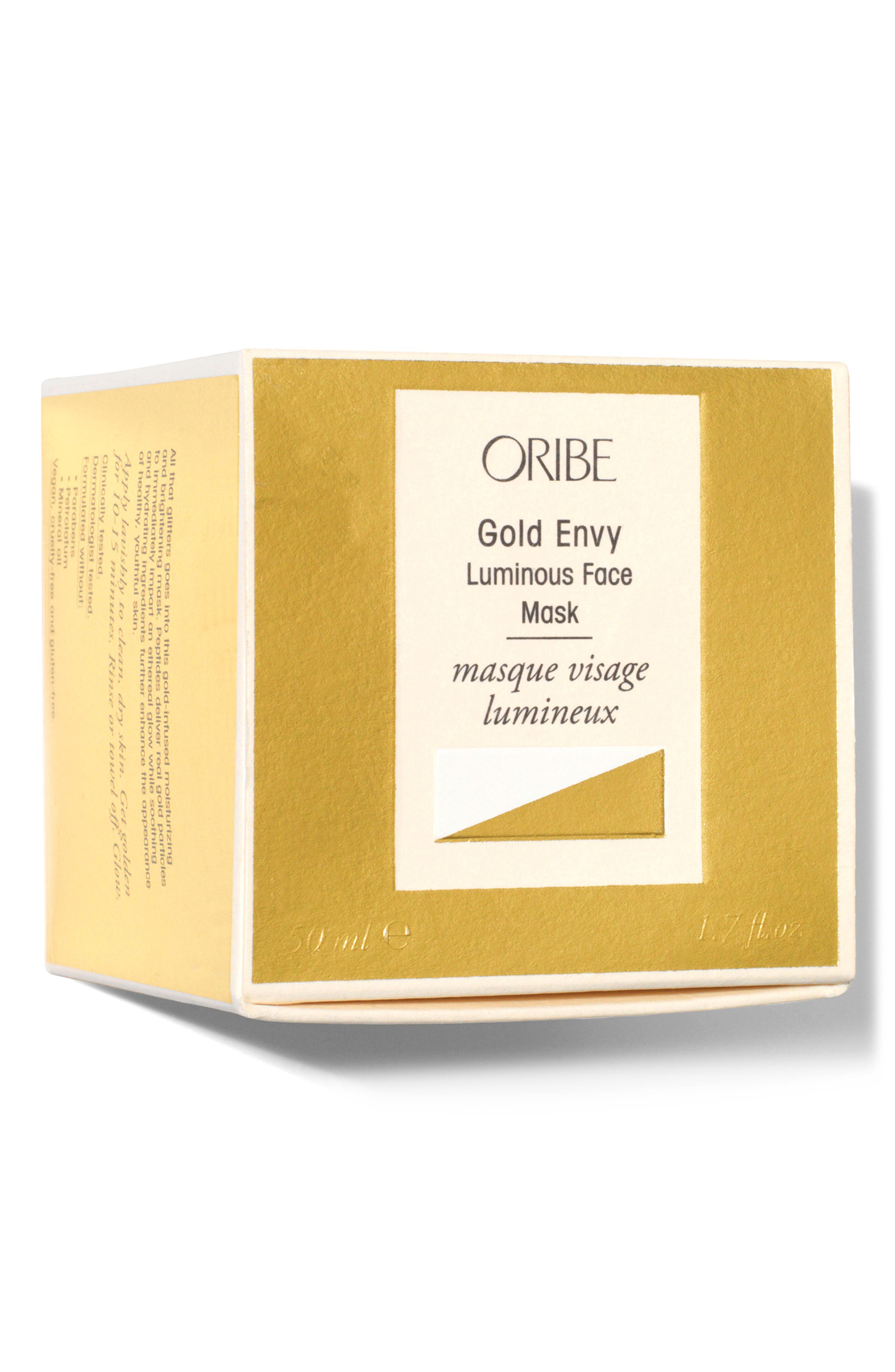 SPACE.NK.apothecary Gold Envy Luminous Face Mask,                             Alternate thumbnail 4, color,                             No Color
