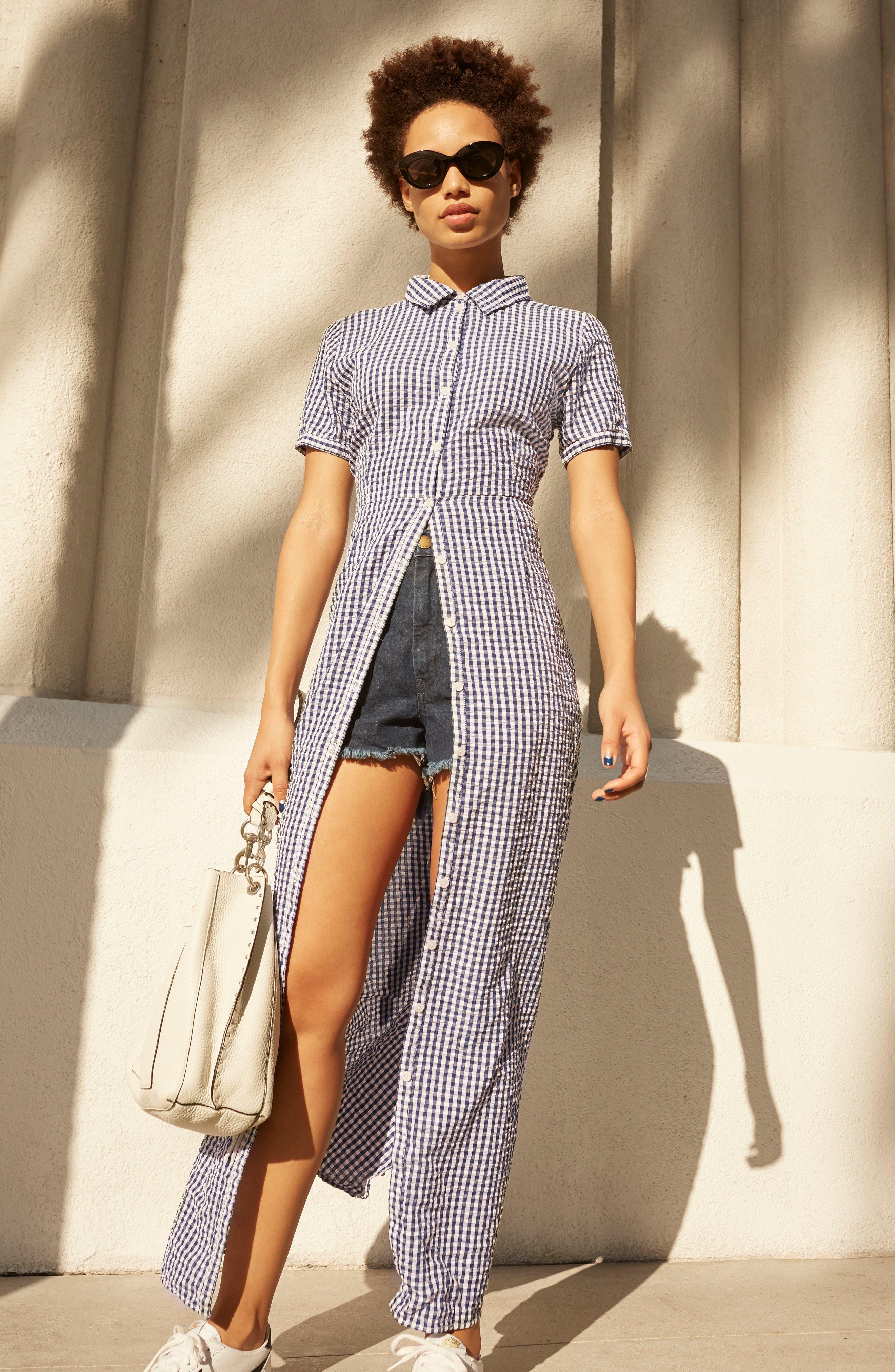Alternate Image 2  - Sanctuary Blue Dawn Maxi Dress