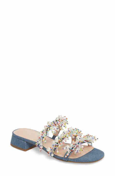 Cecelia New York Fes Embellished Slide Sandal (Women) 697c35b8d96