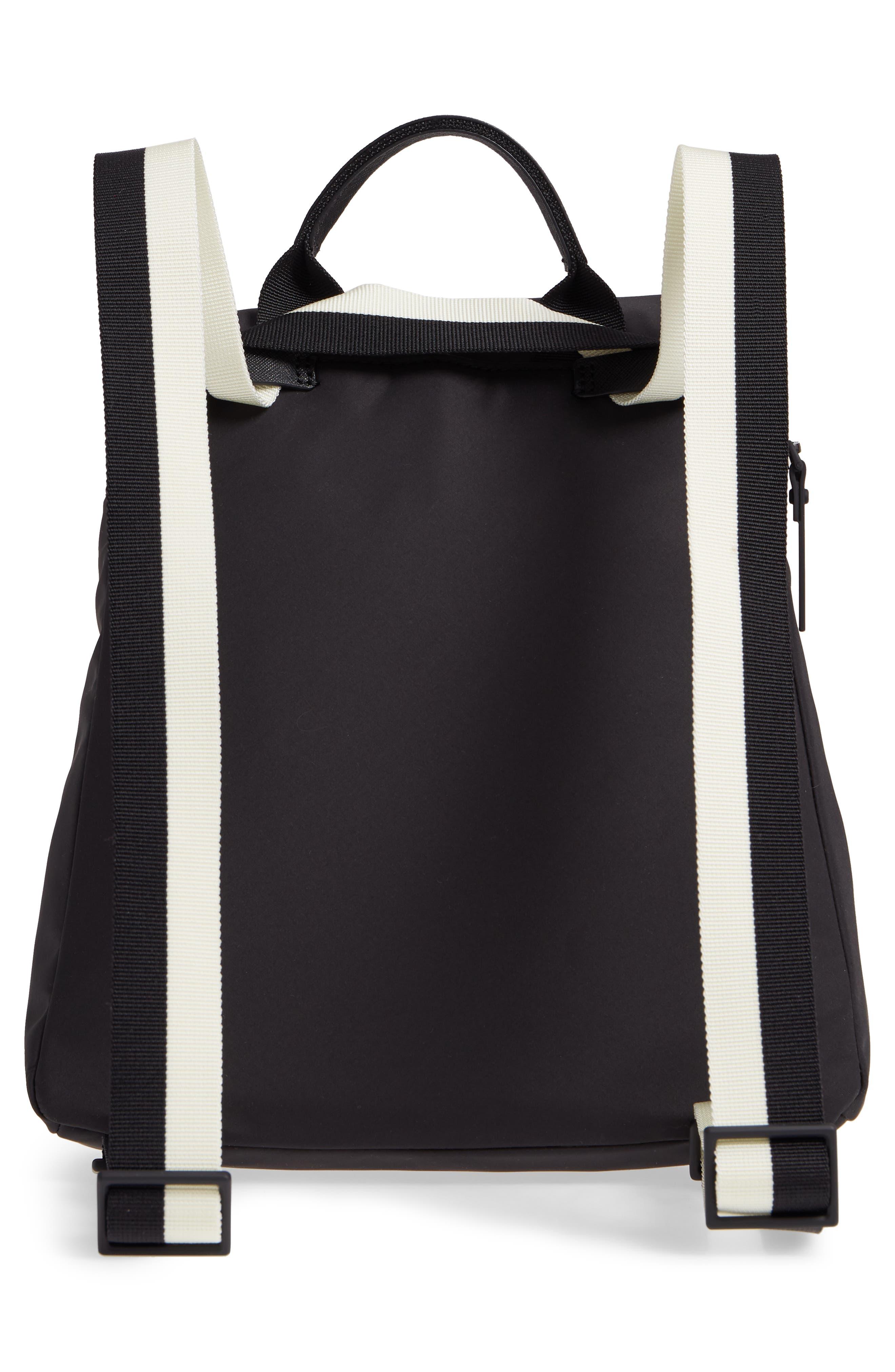 that's the spirit mini nylon convertible backpack,                             Alternate thumbnail 3, color,                             Black