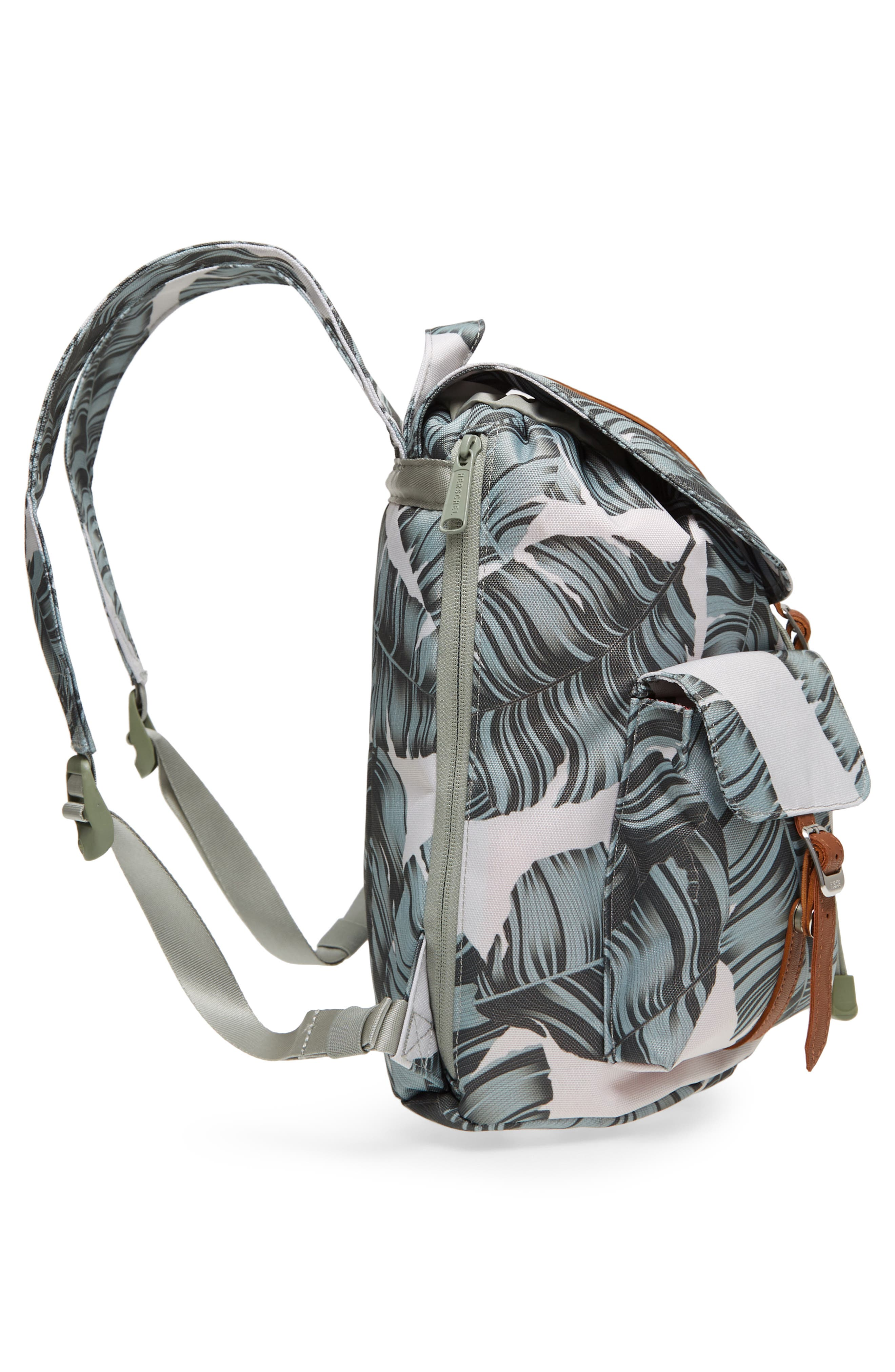 X-Small Dawson Backpack,                             Alternate thumbnail 4, color,                             Silver Birch Palm