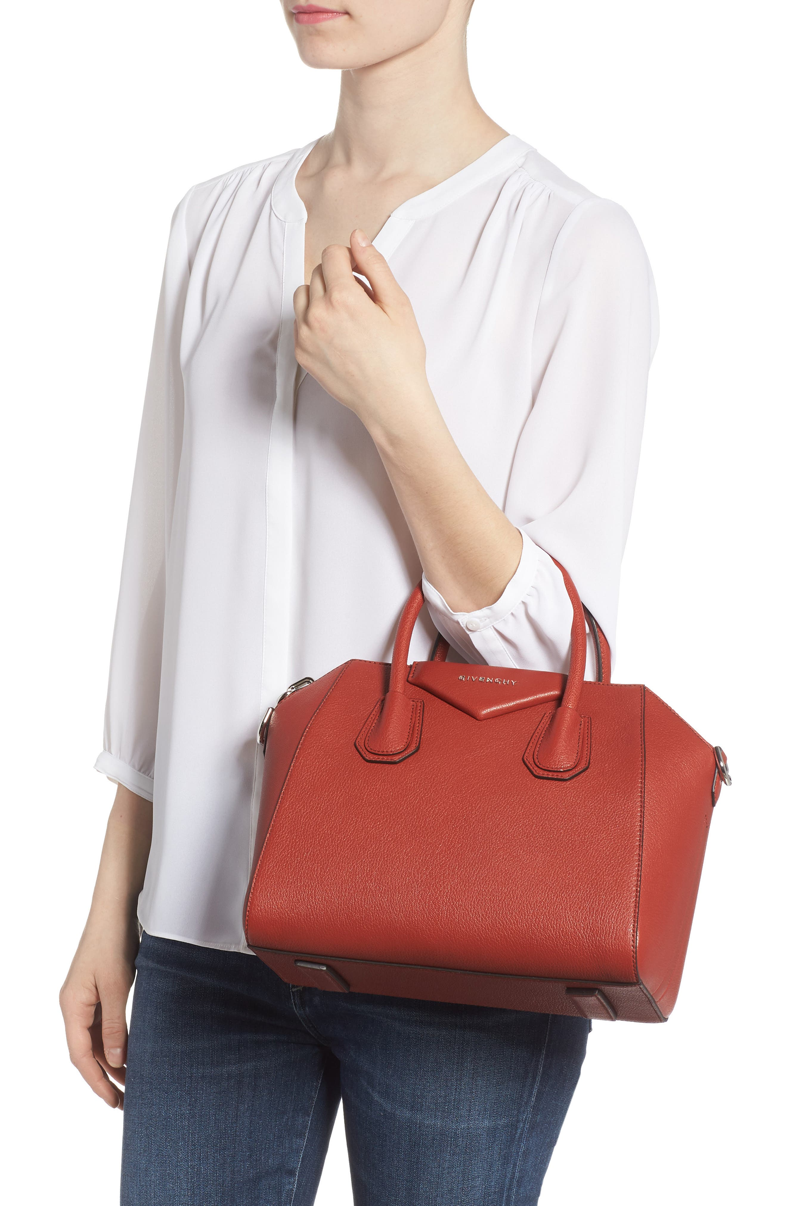 Alternate Image 2  - Givenchy 'Small Antigona' Leather Satchel