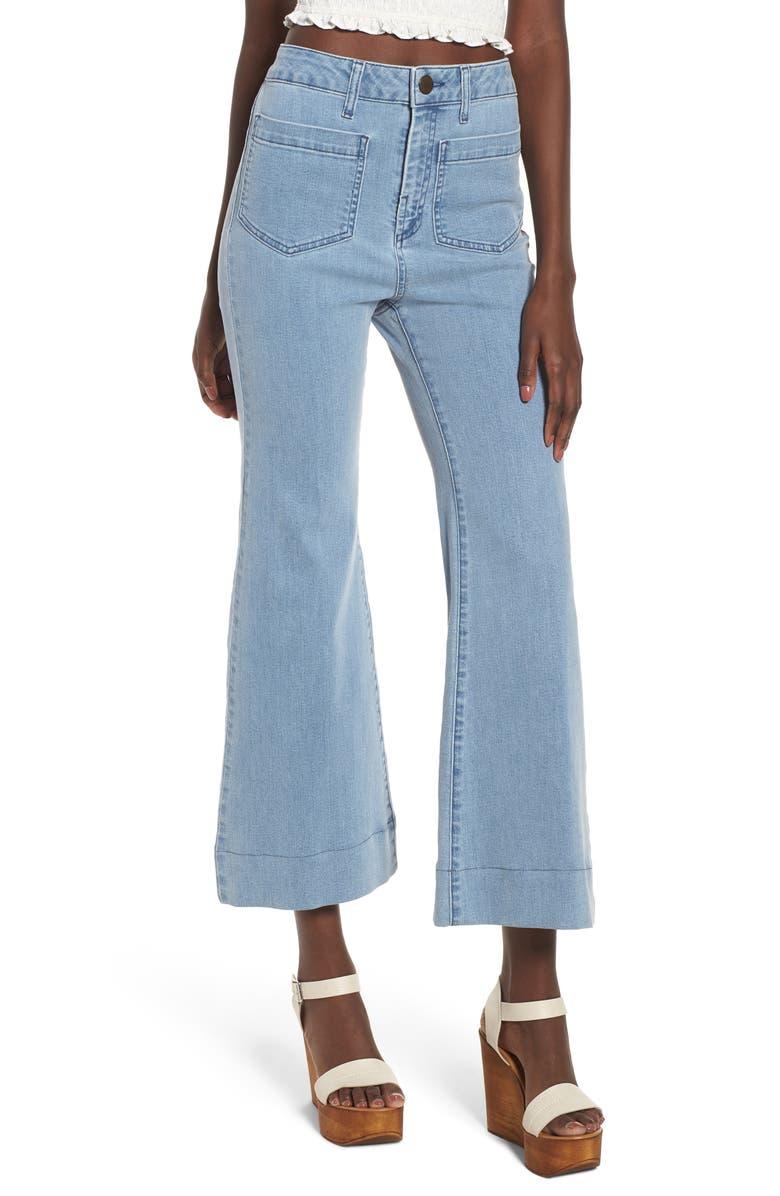 Farrah Crop Flare Jeans