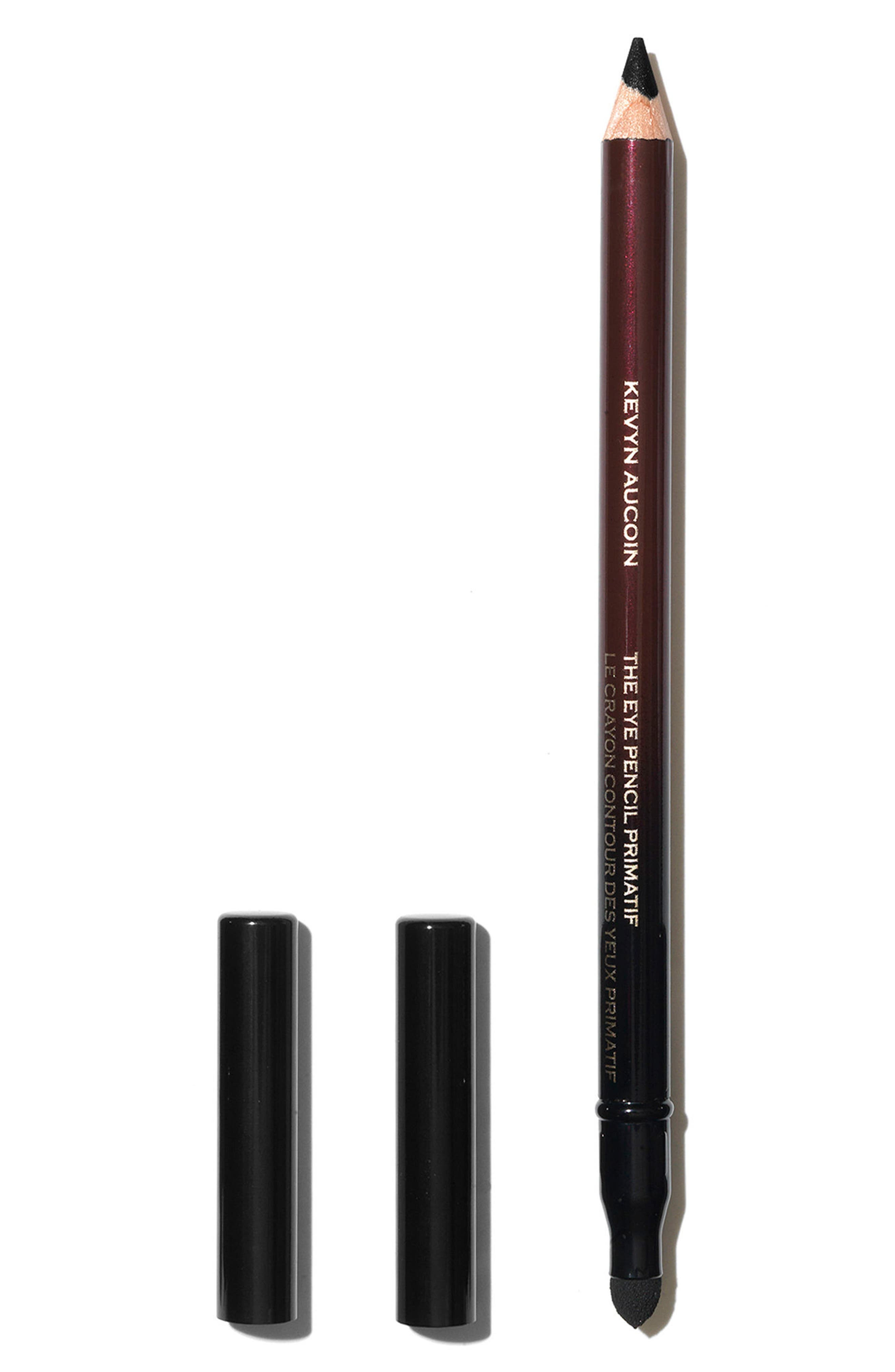 SPACE.NK.apothecary Kevyn Aucoin Beauty The Eye Pencil Primatif Pencil Eyeliner,                             Main thumbnail 1, color,                             Basic Black