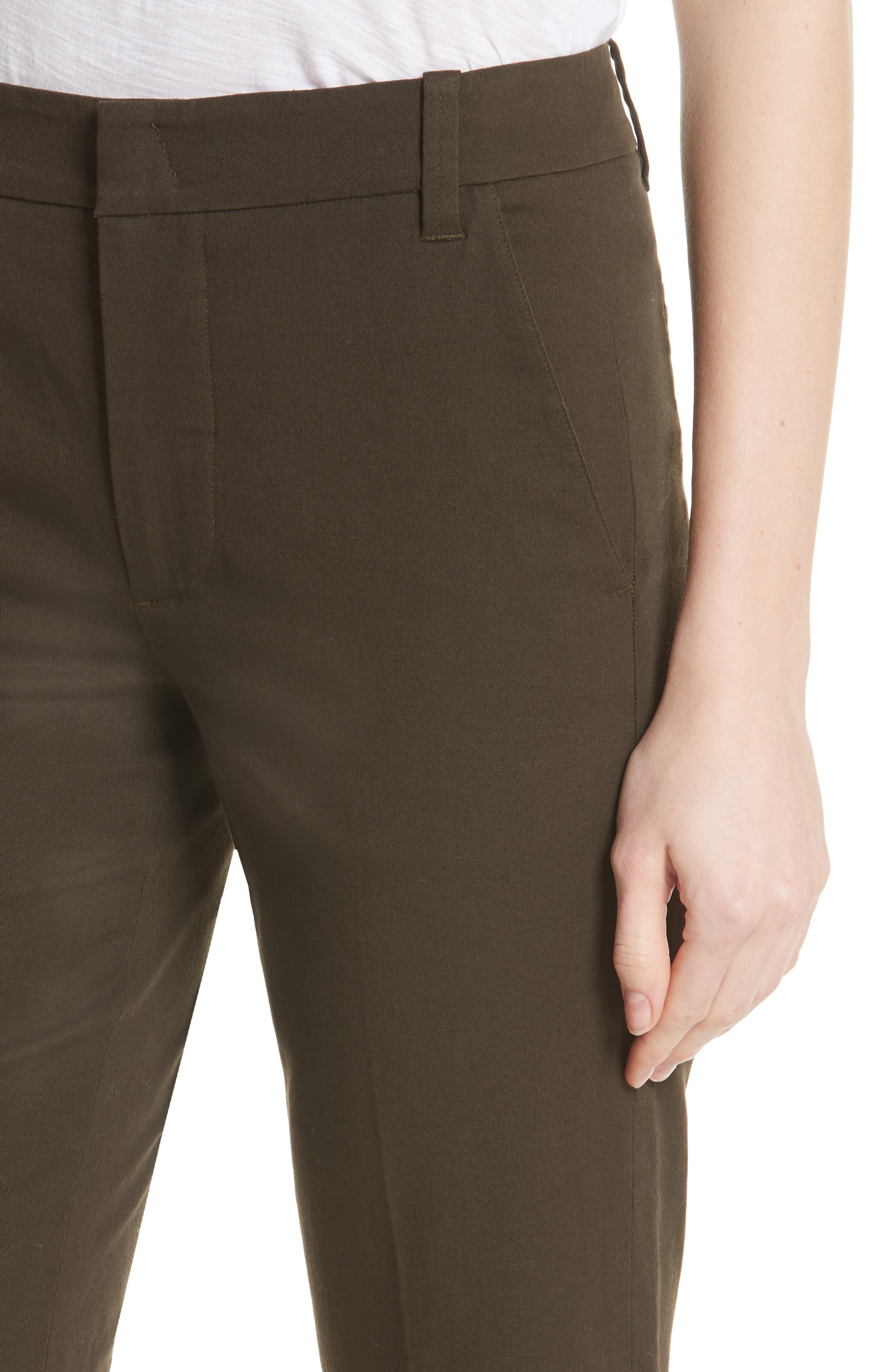 Coin Pocket Bermuda Shorts,                             Alternate thumbnail 4, color,                             Pinon Green