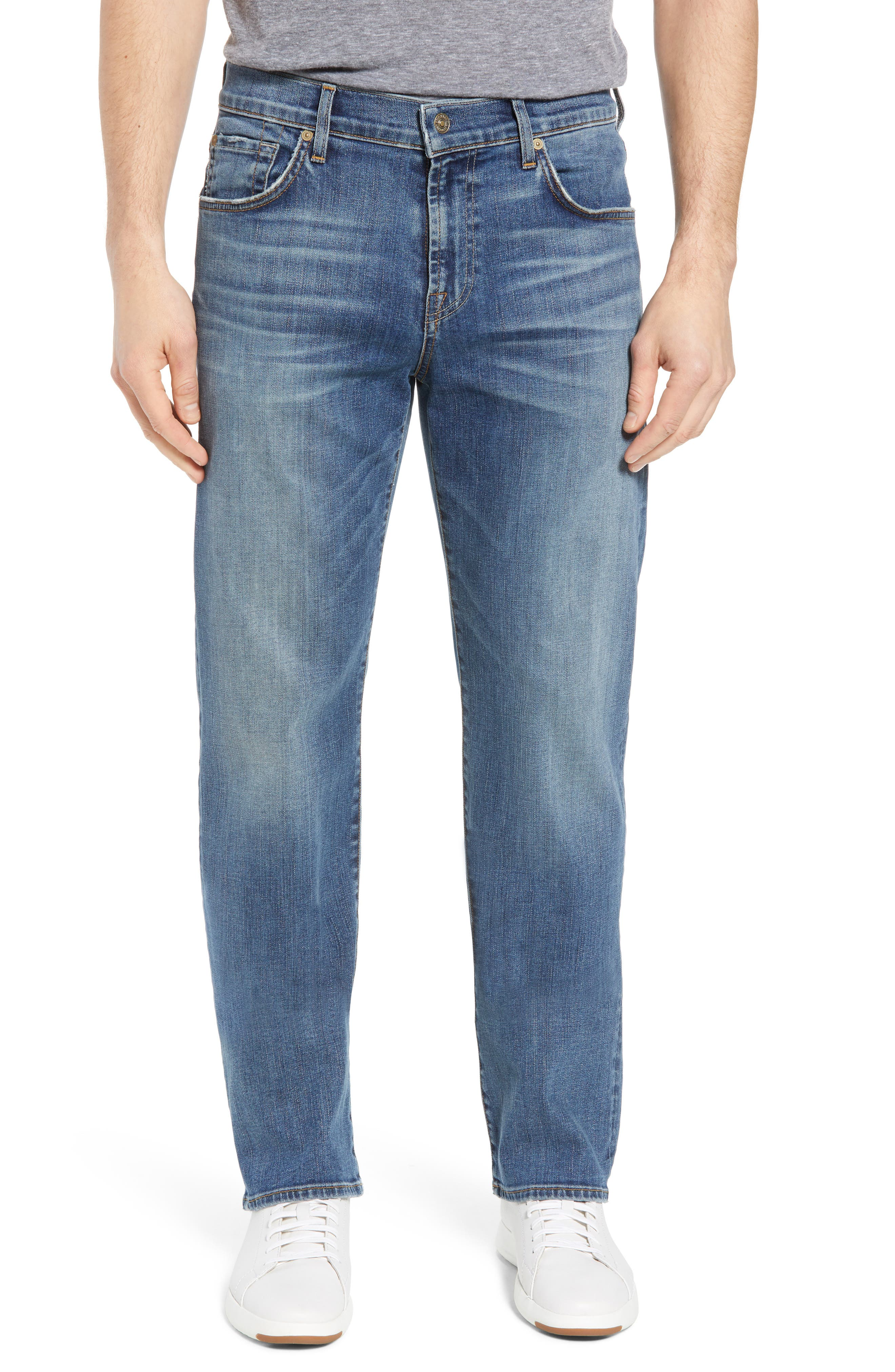 Luxe Performance - Austyn Relaxed Fit Jeans,                         Main,                         color, Bedrock