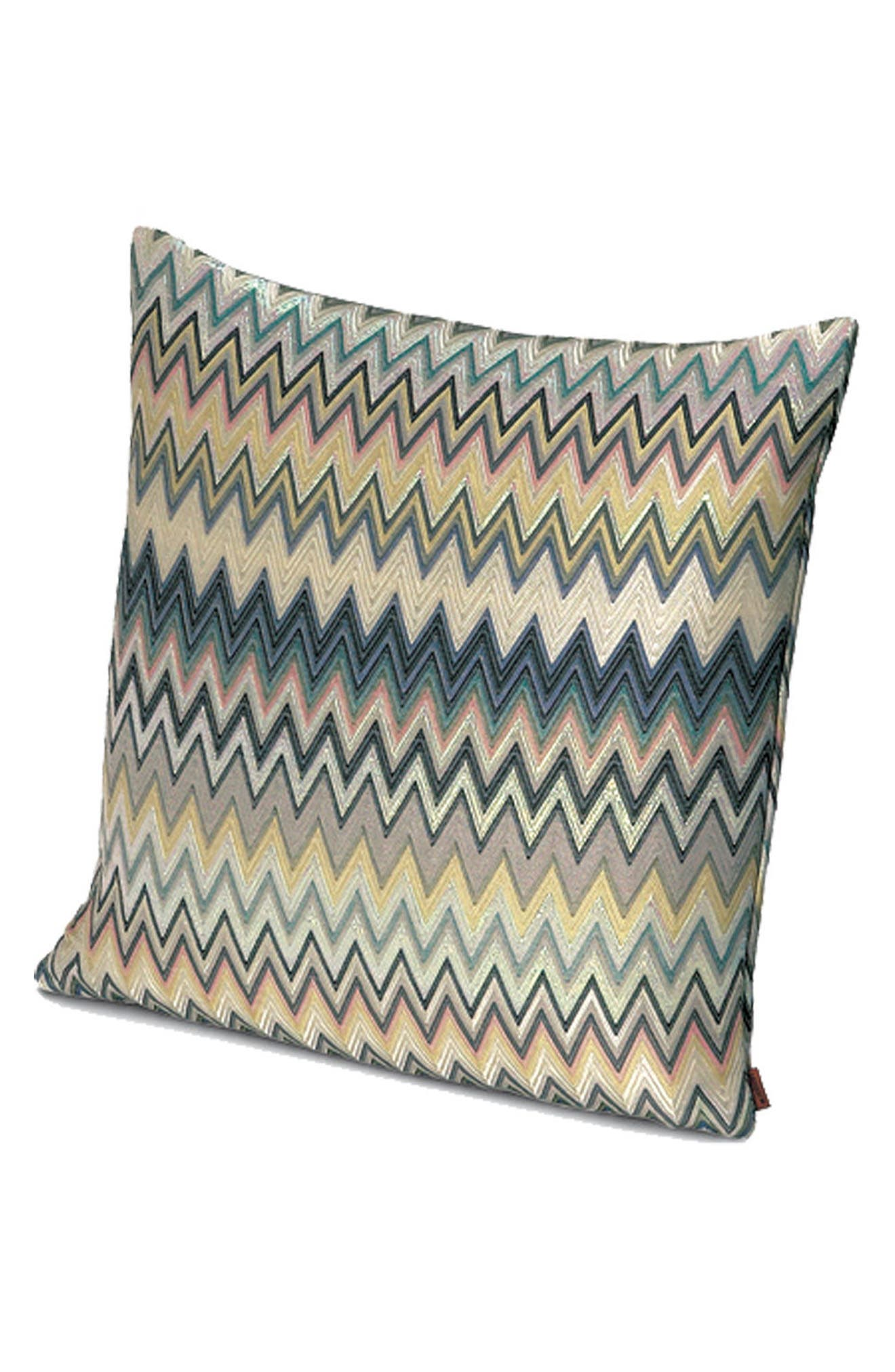 Masuleh Accent Pillow,                             Main thumbnail 1, color,                             Multi Blue