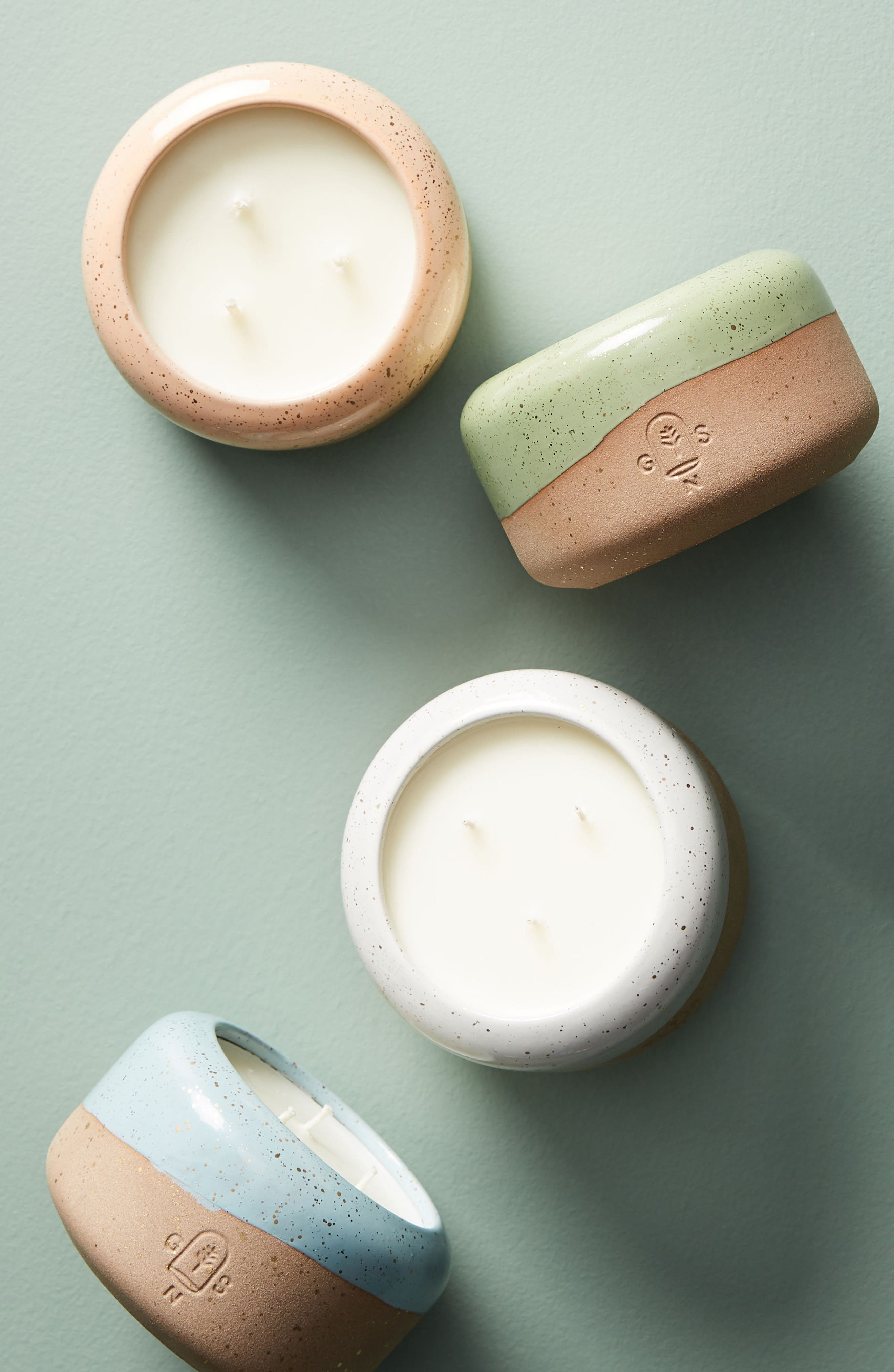 Good Natured Soy Candle,                             Alternate thumbnail 2, color,                             Apricot And Basil