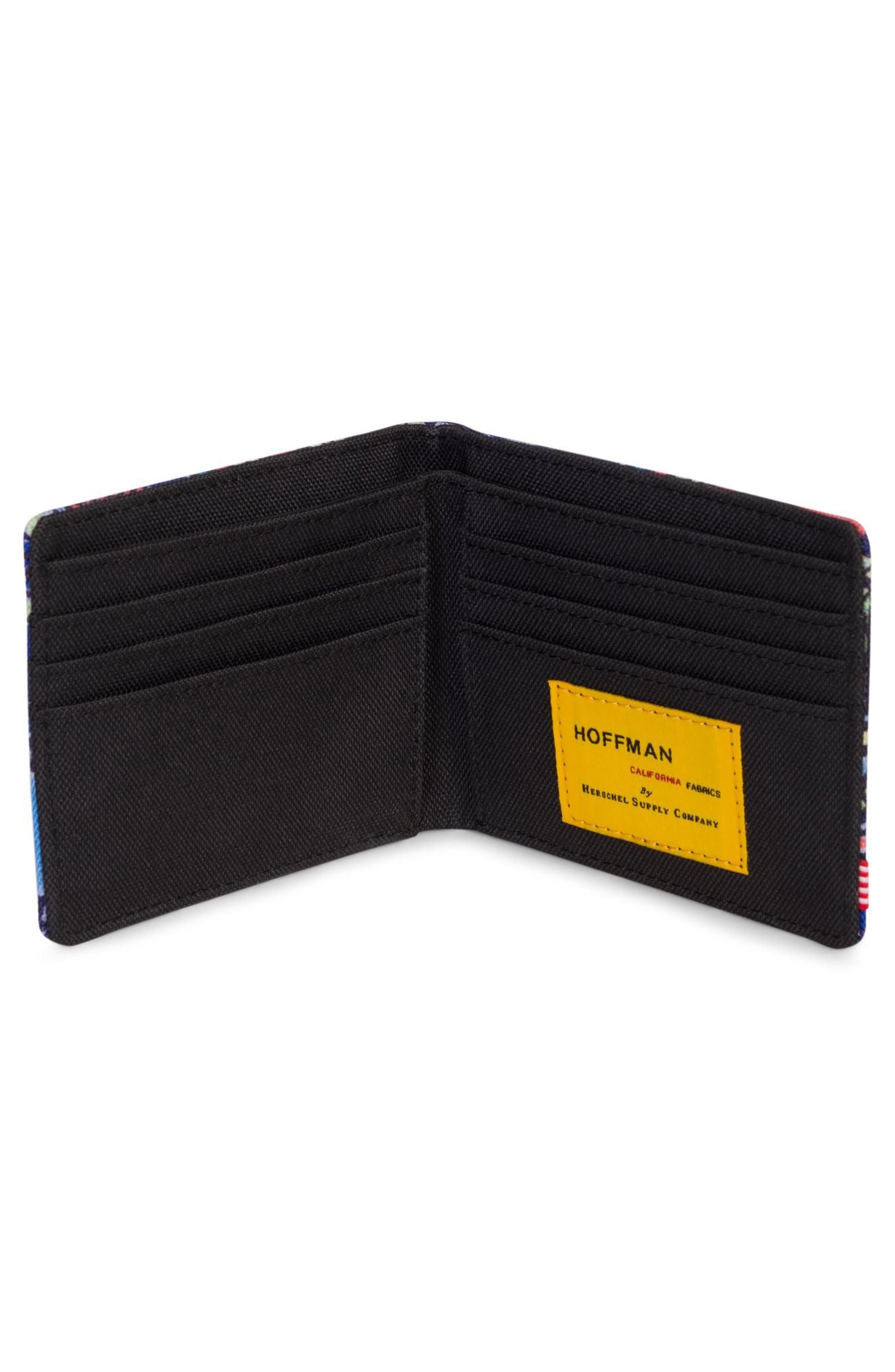 Hoffman Roy Wallet,                             Alternate thumbnail 2, color,                             Abstract Geo
