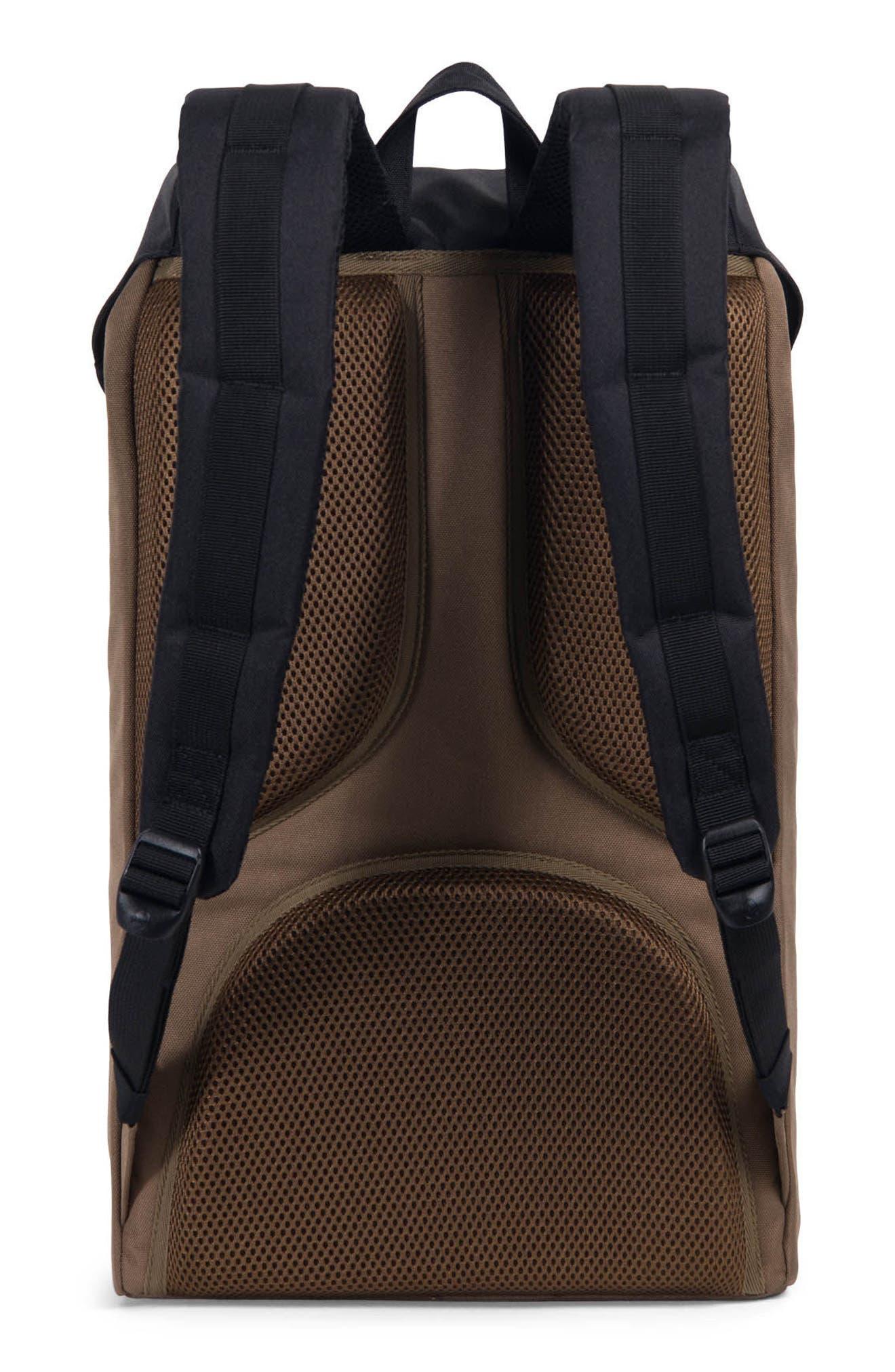 Little America Offset Stripe Backpack,                             Alternate thumbnail 2, color,                             Cub/ Black/ White