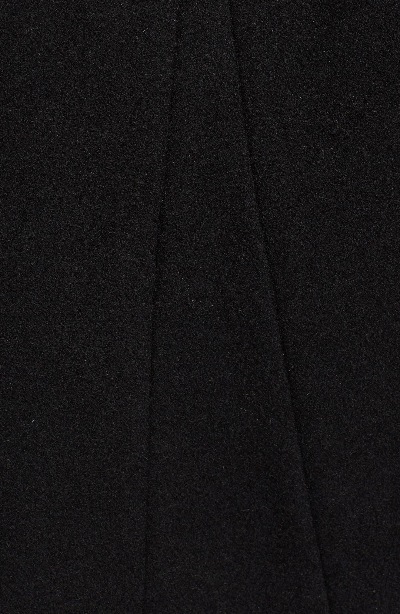Convertible 3-in-1 Maternity/Nursing Coat,                             Alternate thumbnail 7, color,                             Black