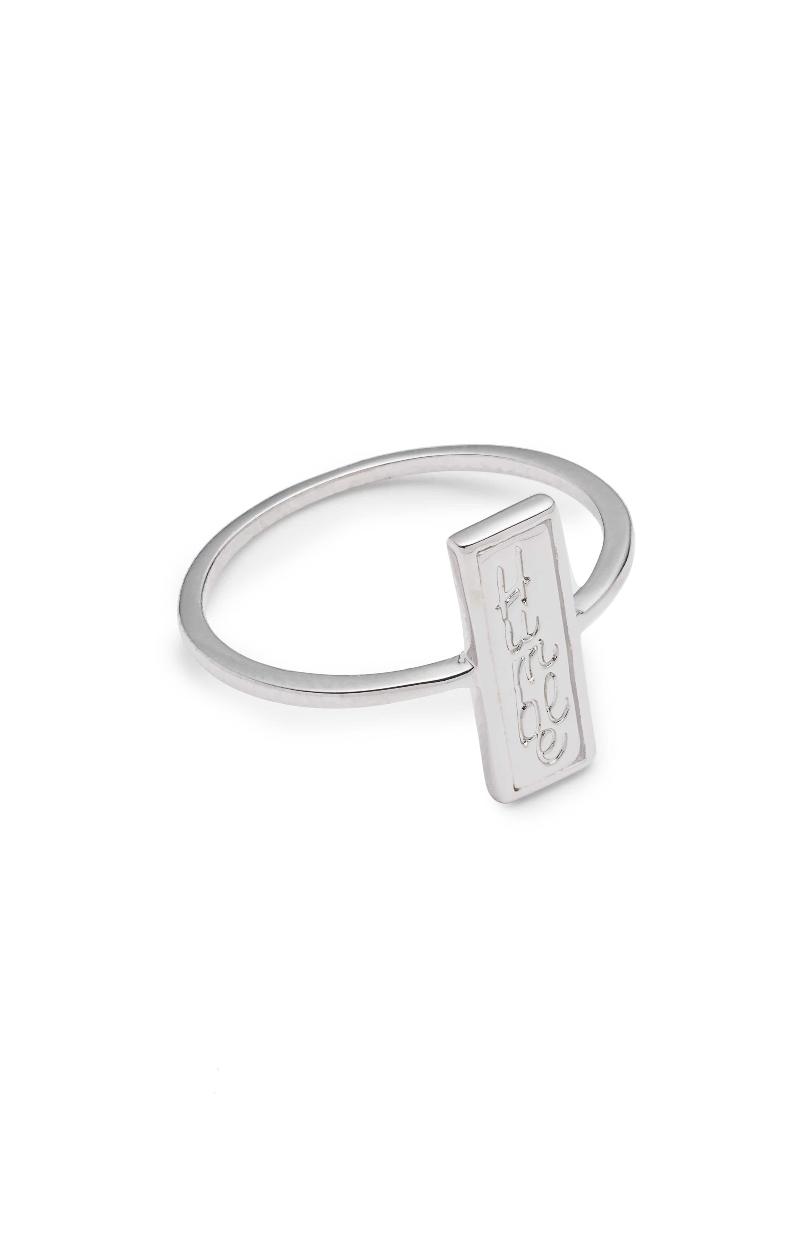Humble Ring,                             Main thumbnail 1, color,                             Silver