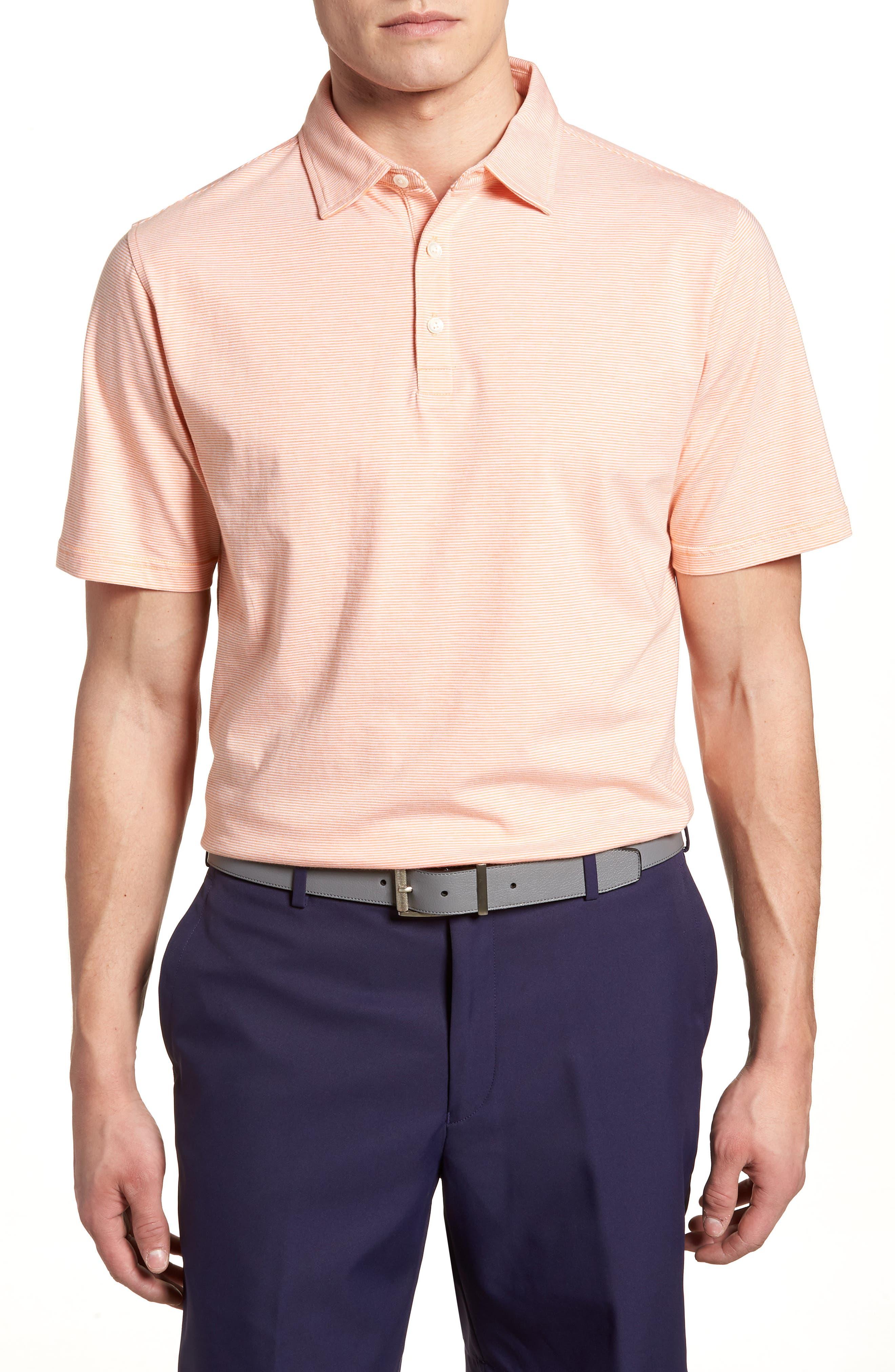Peter Millar Crown Stripe Polo