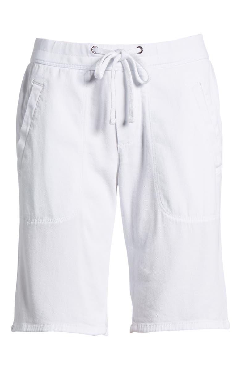Soft Drape Utility Shorts