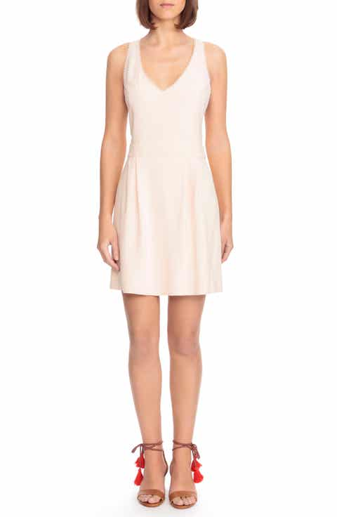 S?zane Alya Crisscross A-Line Dress