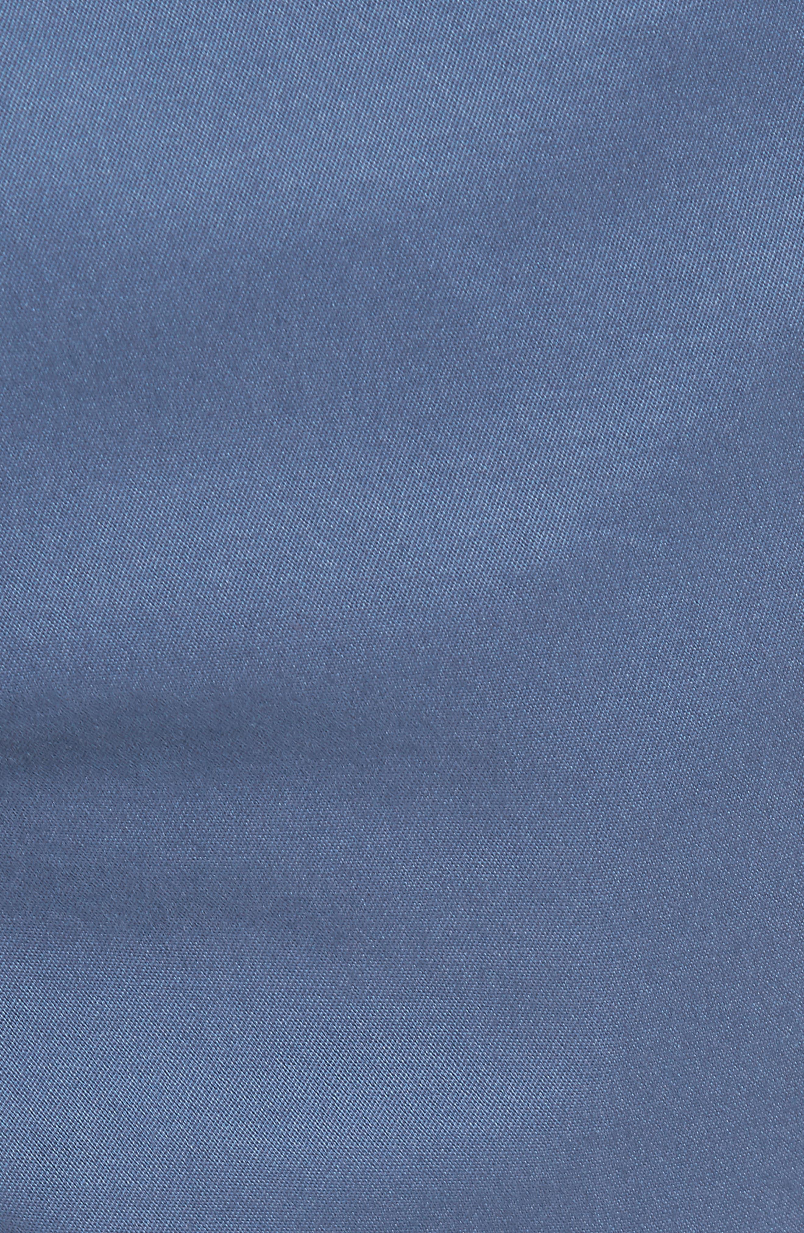 Jetty Stretch Cotton Shorts,                             Alternate thumbnail 5, color,                             Moonshine
