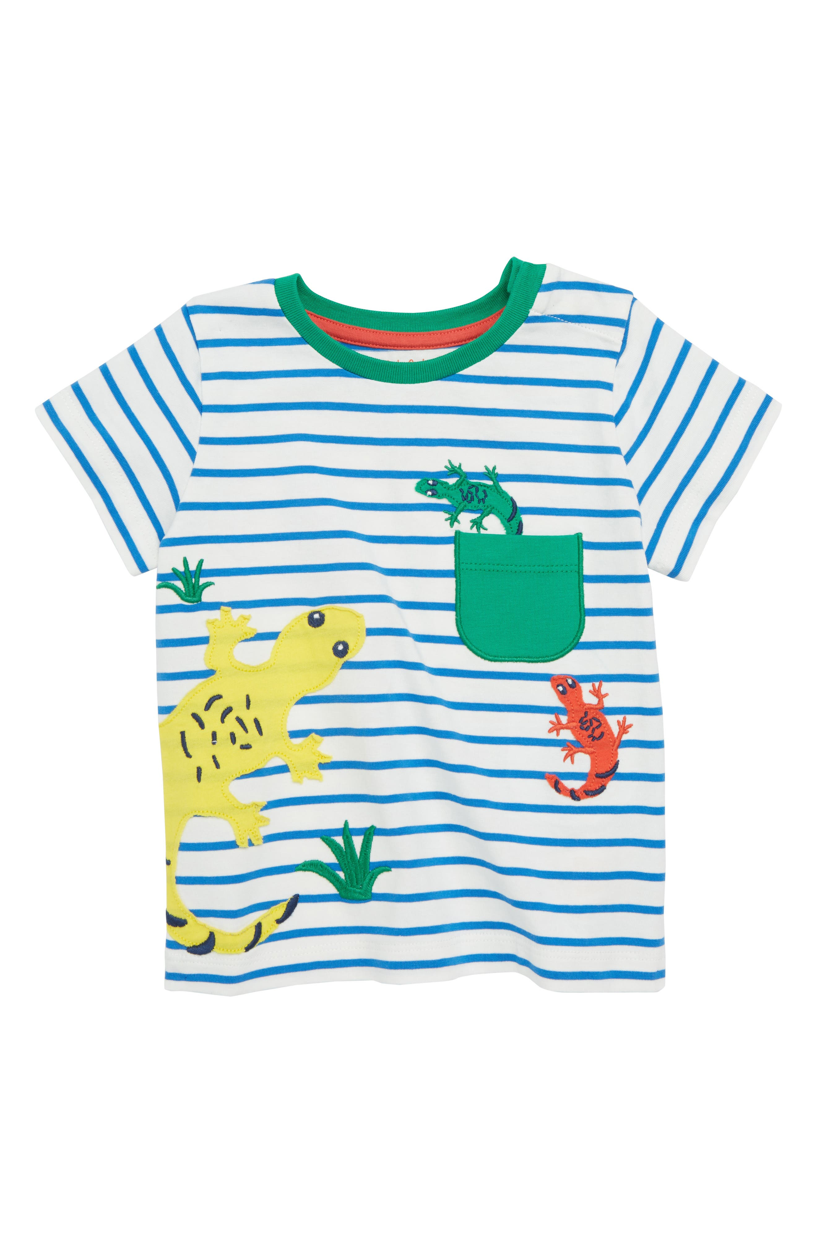 Pocket Friends T-Shirt,                             Main thumbnail 1, color,                             Skipper Blue