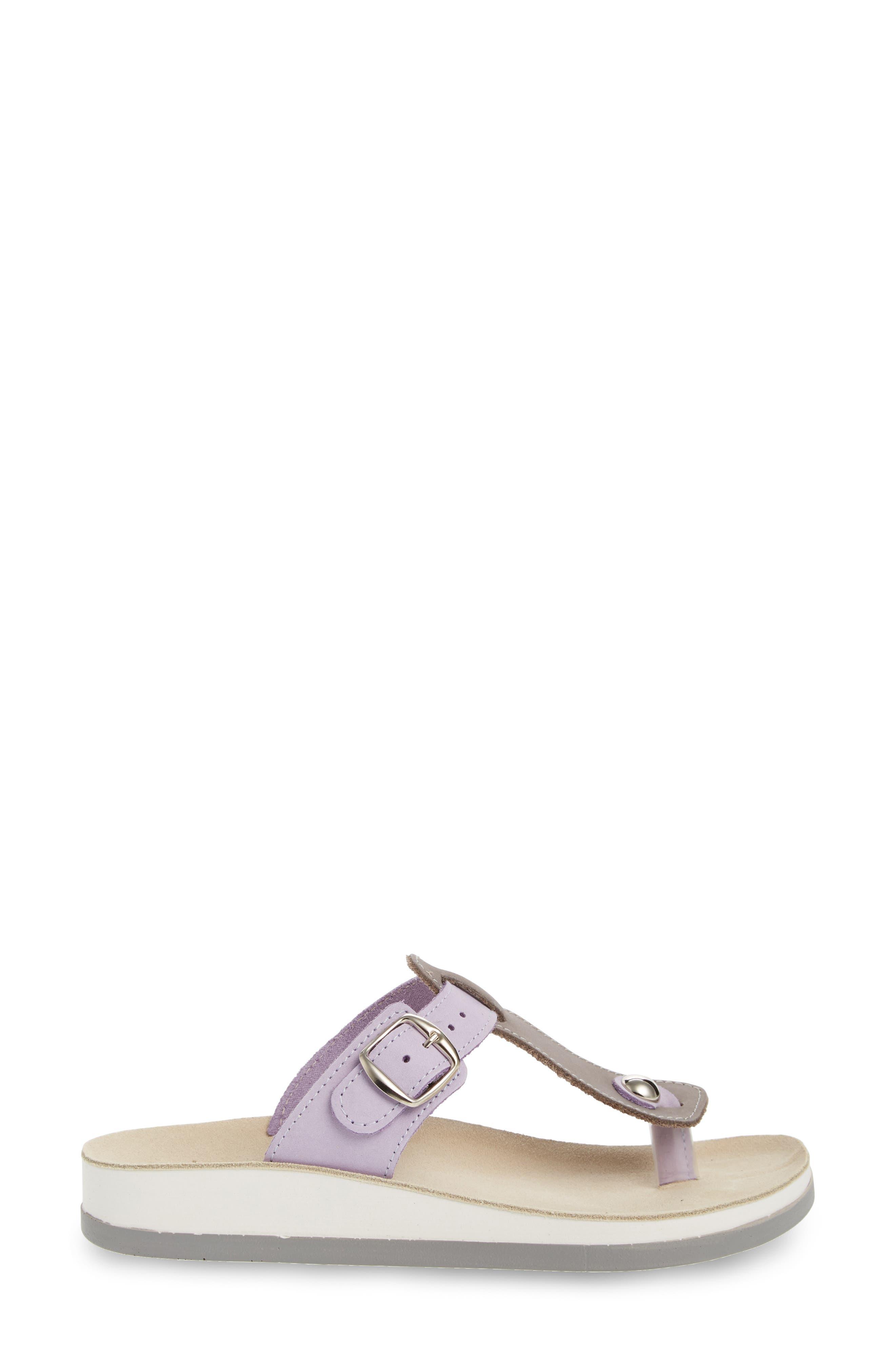 Viola Sandal,                             Alternate thumbnail 3, color,                             Lila Grey Leather