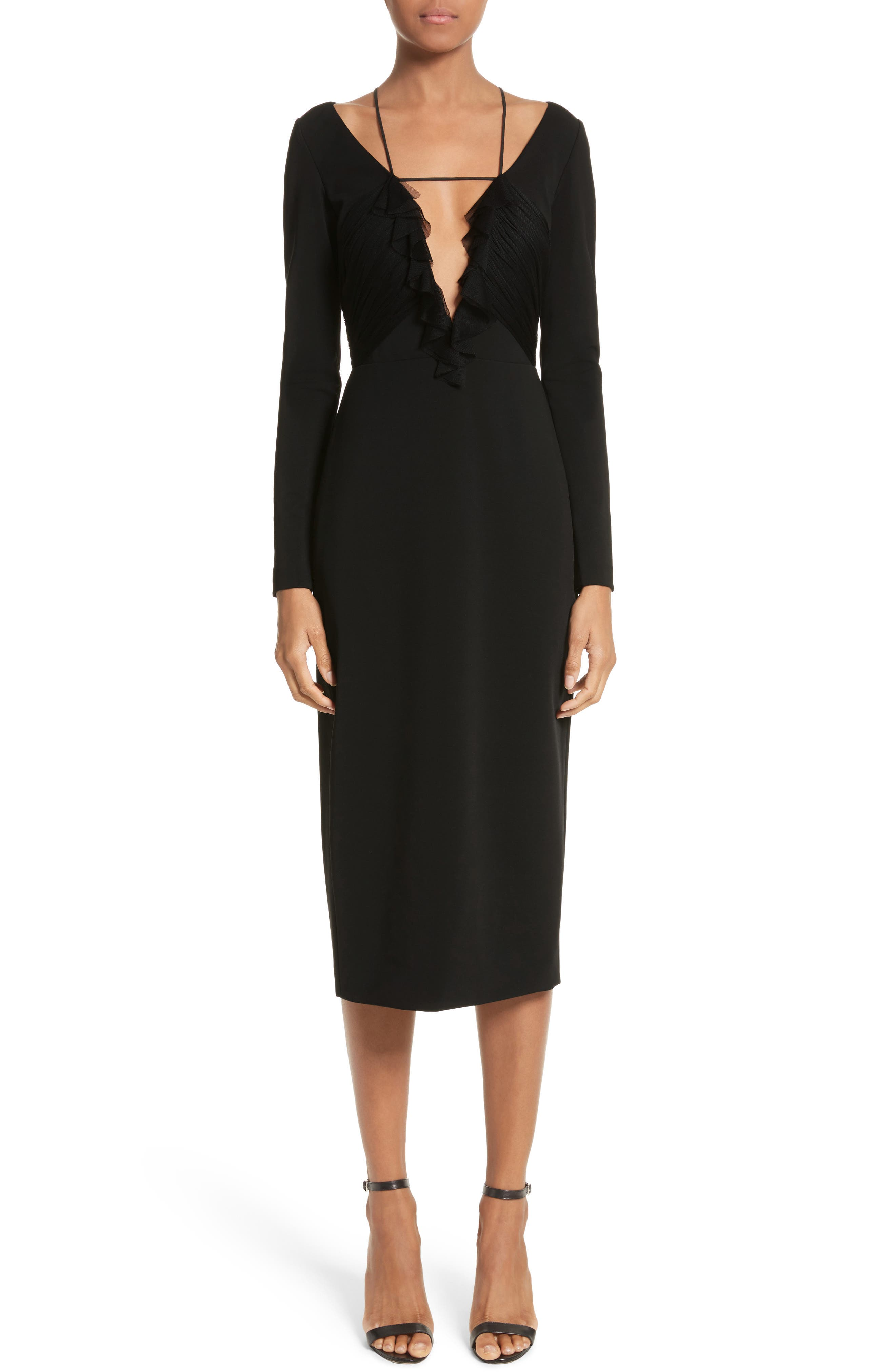 Main Image - Cushnie et Ochs Ruffle Pencil Dress