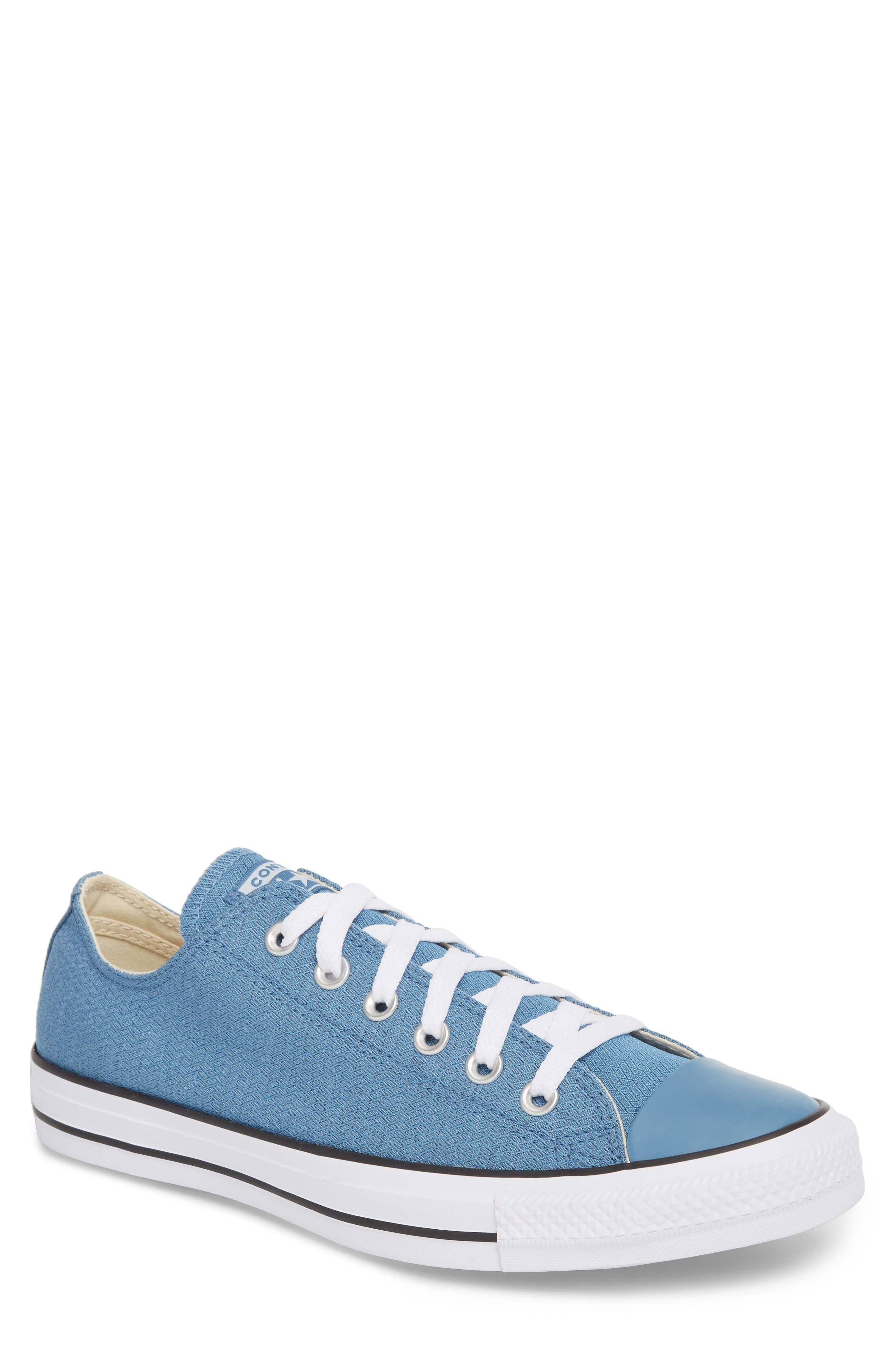 All Star<sup>®</sup> Ripstop Low Top Sneaker,                             Main thumbnail 1, color,                             Aegean Storm