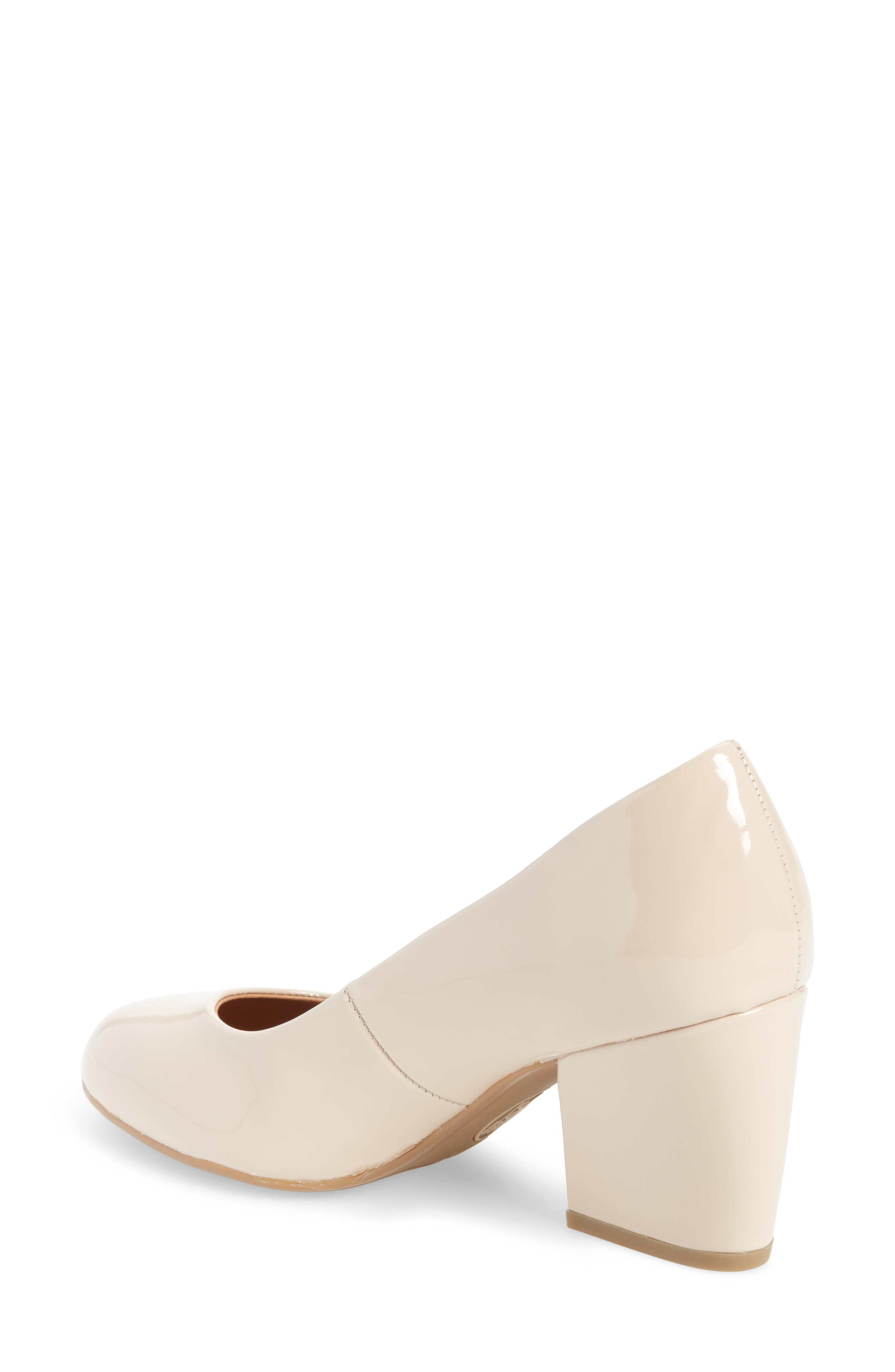 Tamira Pump,                             Alternate thumbnail 2, color,                             Nude Patent Leather