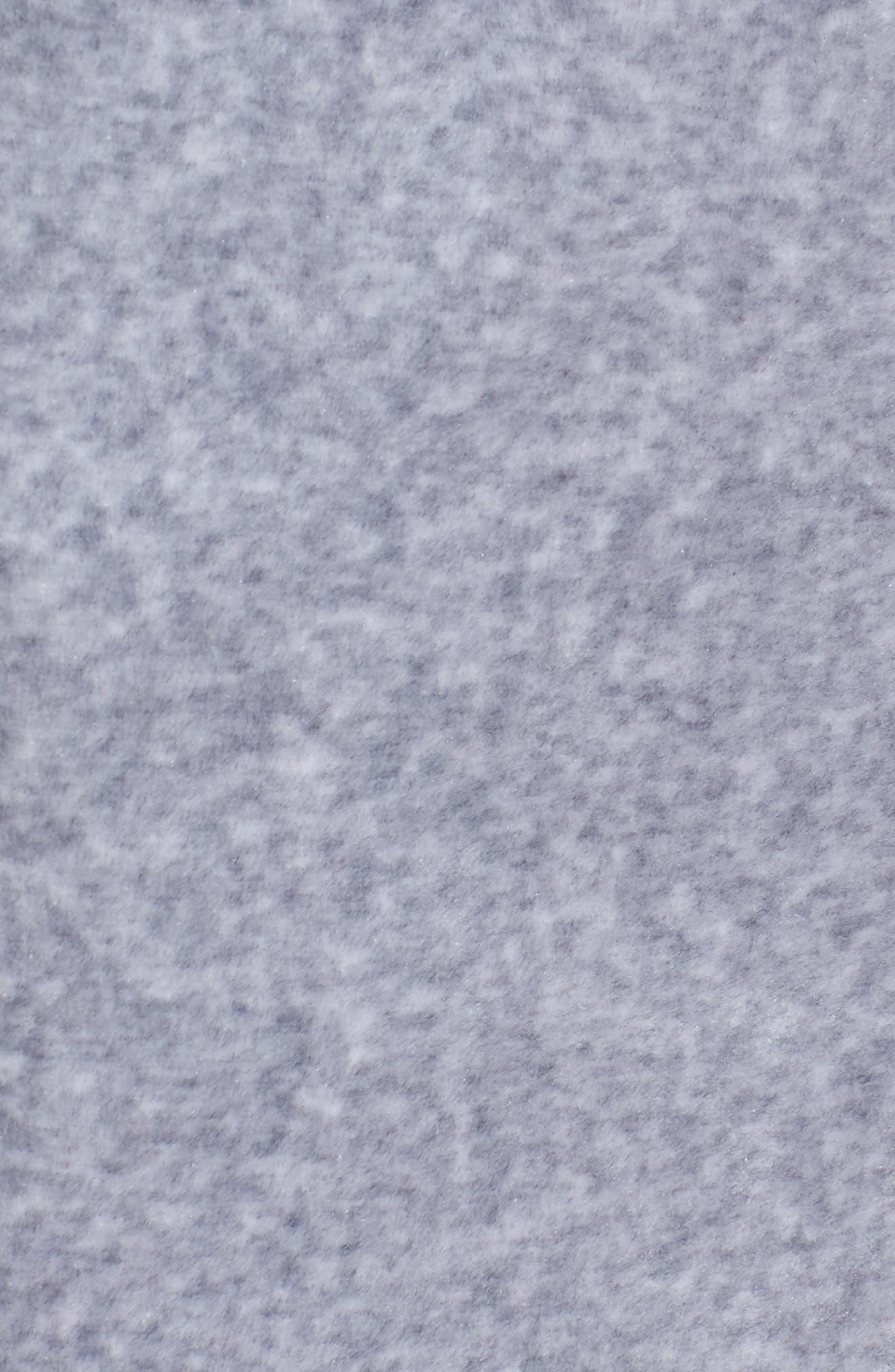 Colorblock Velour Wide Leg Pants,                             Alternate thumbnail 6, color,                             Silver Lining Angel Combo